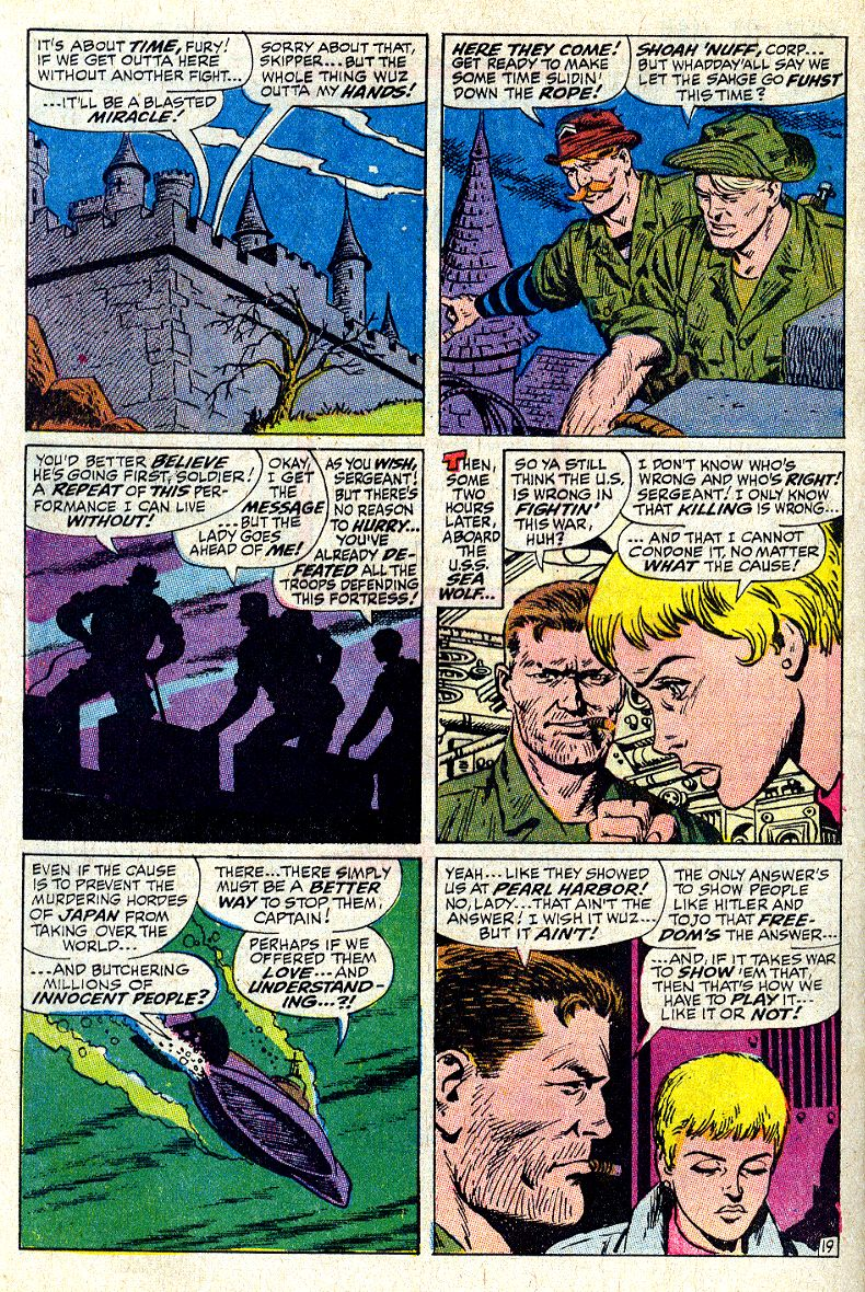 Read online Sgt. Fury comic -  Issue #64 - 28