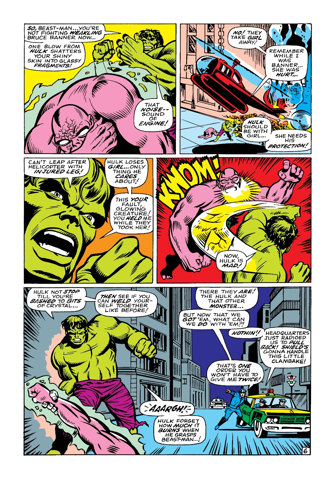 Read online Marvel Masterworks: The Incredible Hulk comic -  Issue # TPB 4 (Part 1) - 76