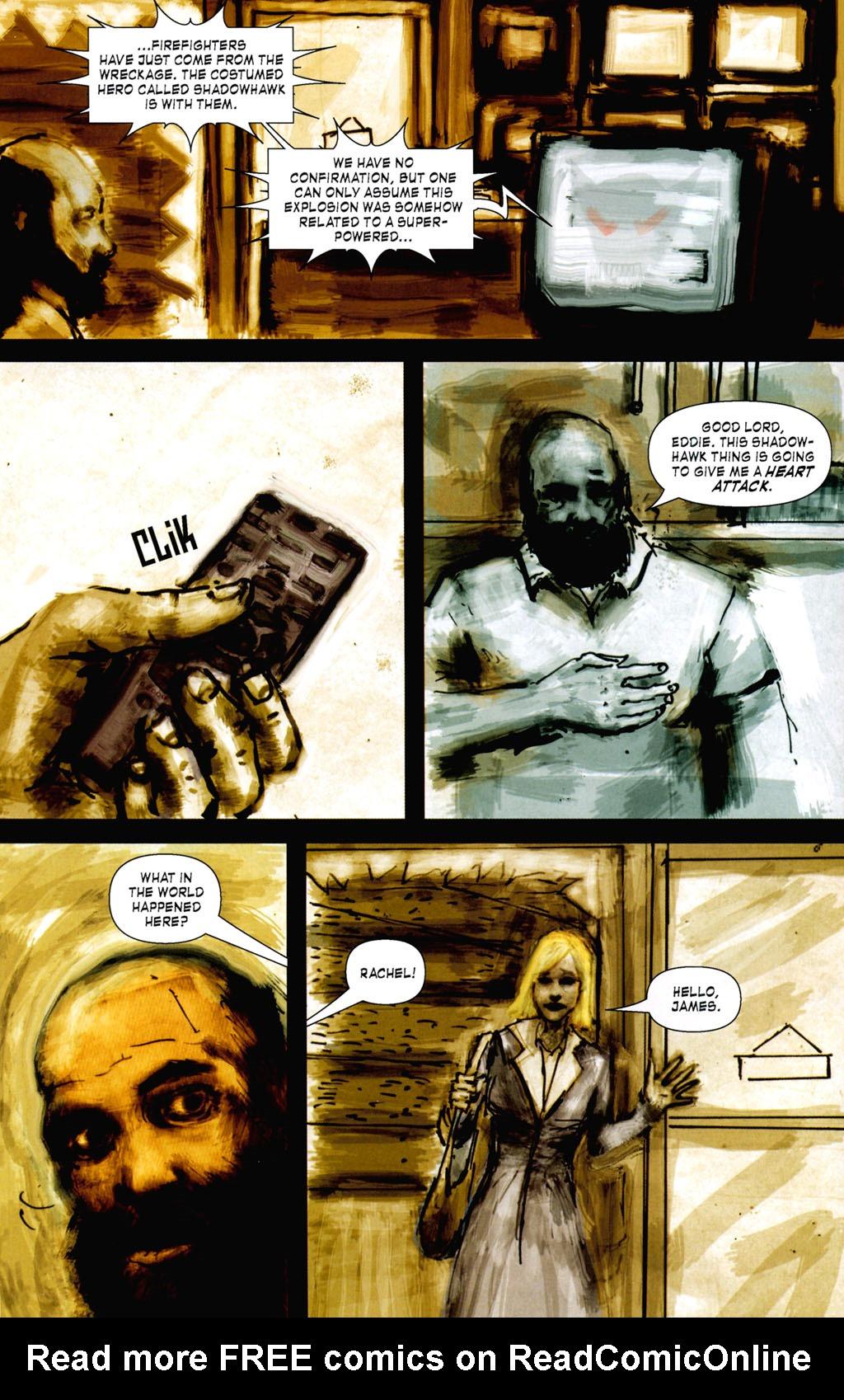 Read online ShadowHawk (2005) comic -  Issue #8 - 8