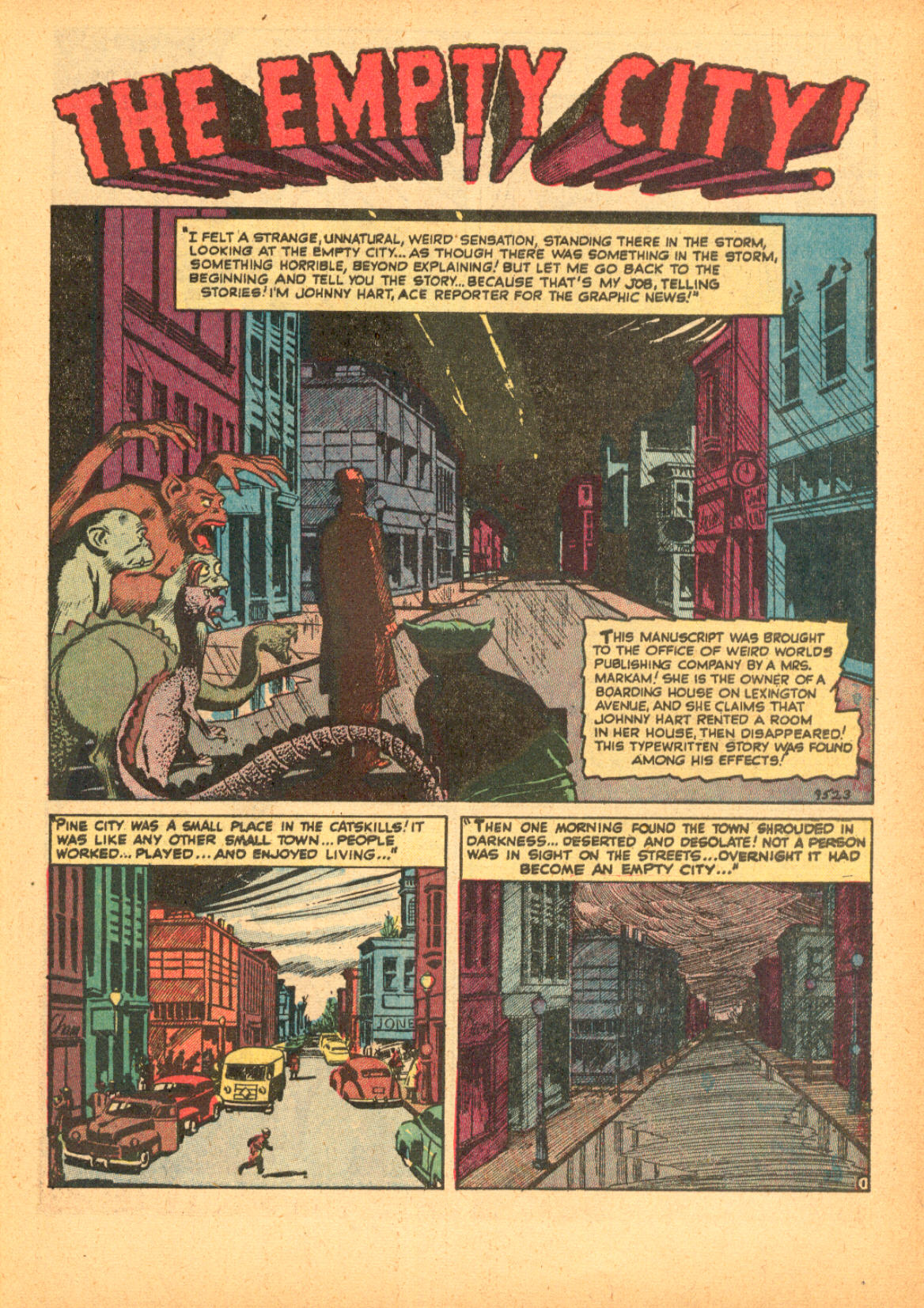 Read online Adventures into Weird Worlds comic -  Issue #3 - 27