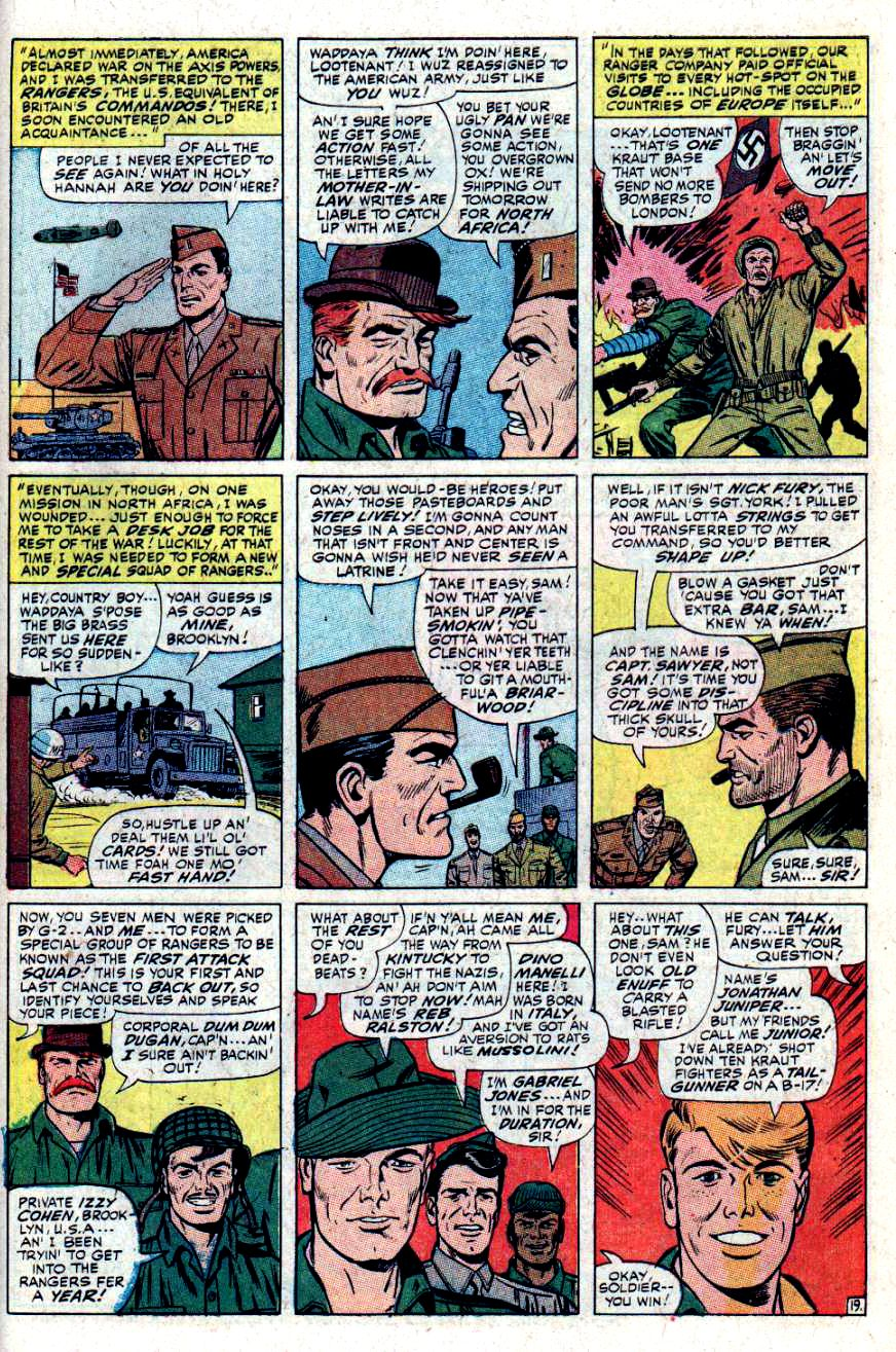 Read online Sgt. Fury comic -  Issue #34 - 27