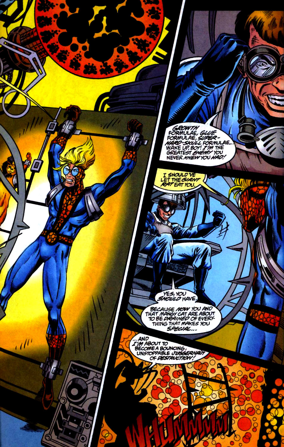 The New Warriors Issue #66 #70 - English 20