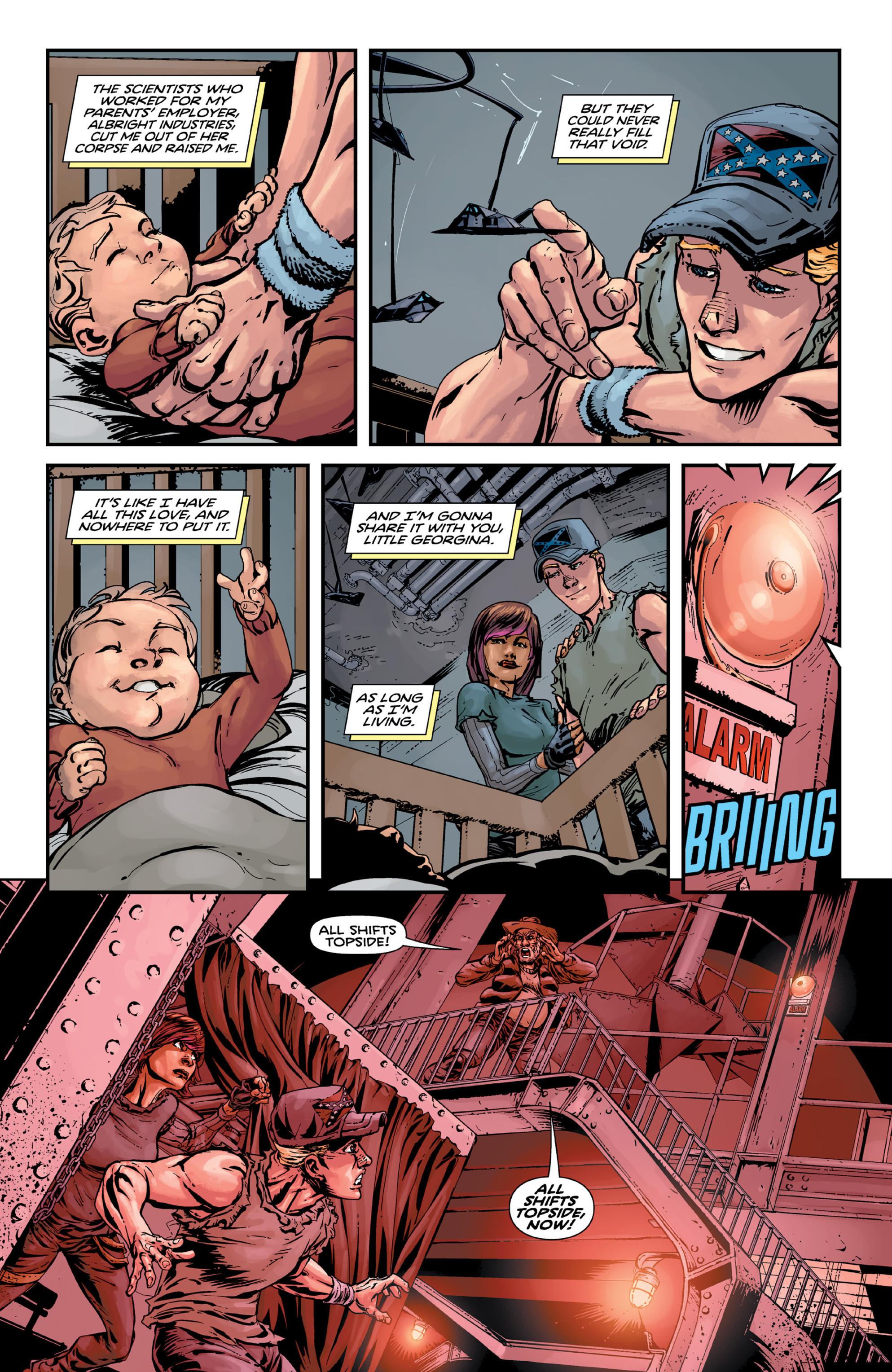 Read online Brain Boy:  The Men from G.E.S.T.A.L.T. comic -  Issue # TPB - 59