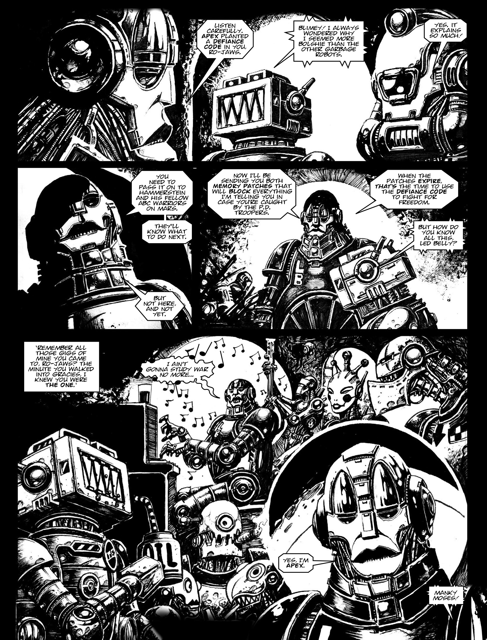 Read online 2000 AD comic -  Issue #1969 - 15