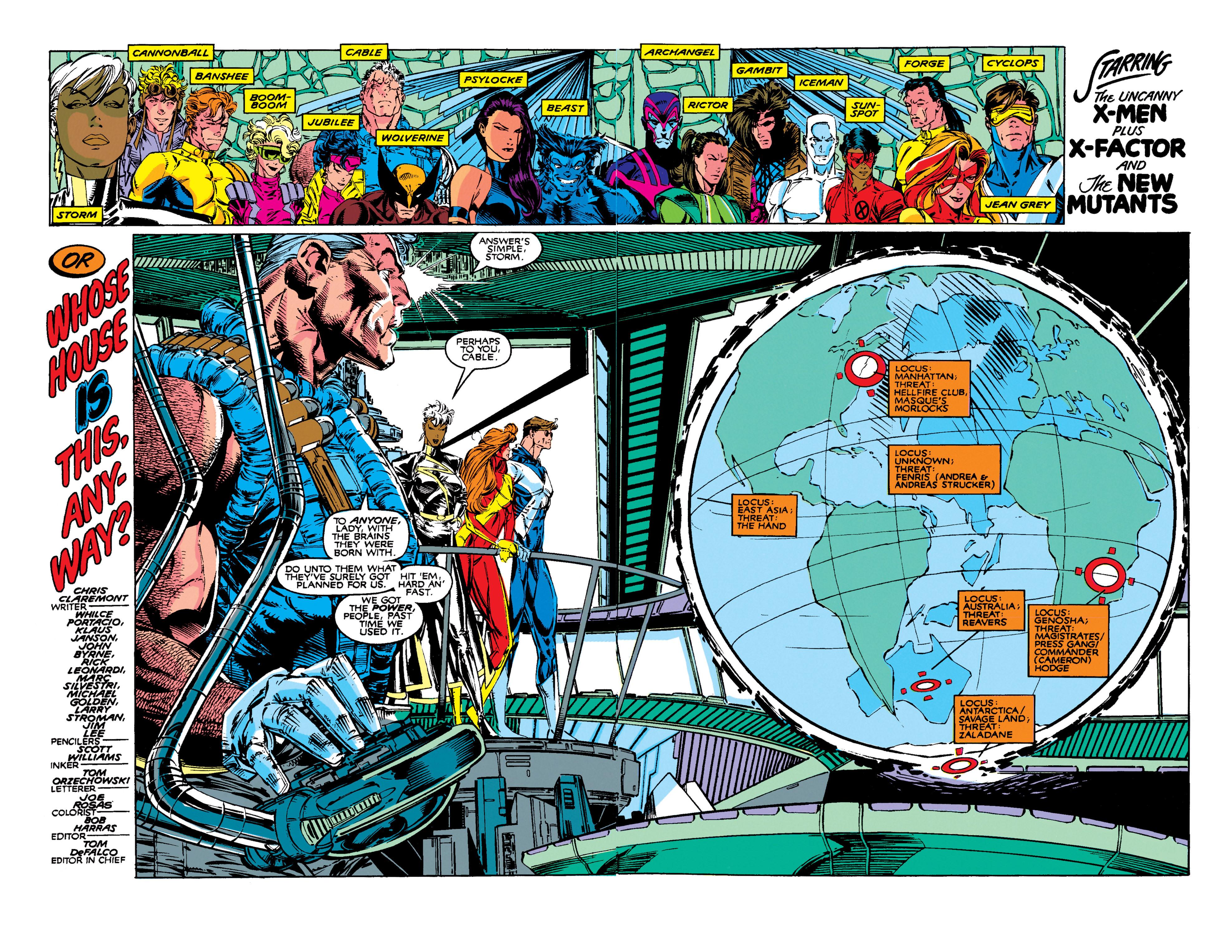 Read online Uncanny X-Men (1963) comic -  Issue #273 - 3