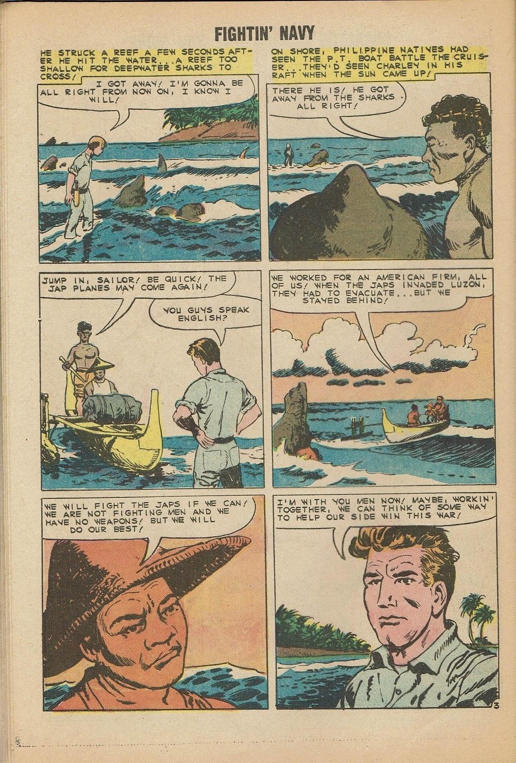 Read online Fightin' Navy comic -  Issue #91 - 28