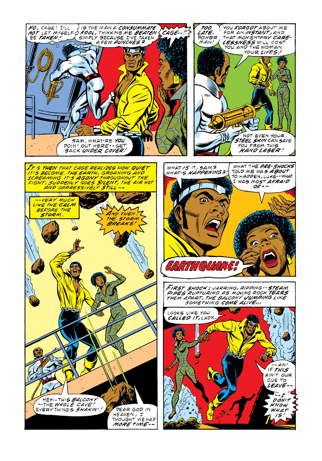 Read online Marvel Masterworks: Luke Cage, Power Man comic -  Issue # TPB 3 (Part 2) - 14