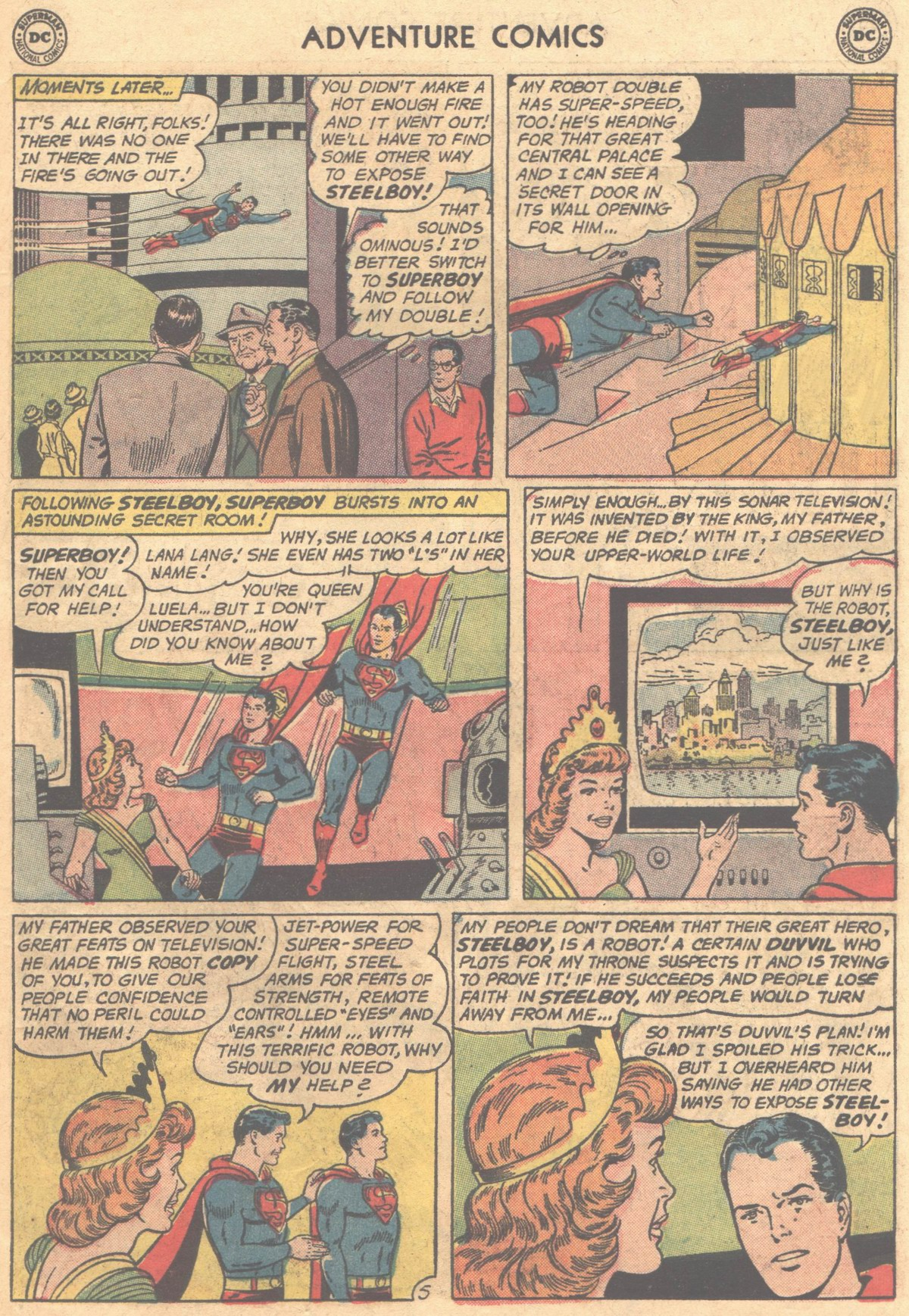 Read online Adventure Comics (1938) comic -  Issue #302 - 8