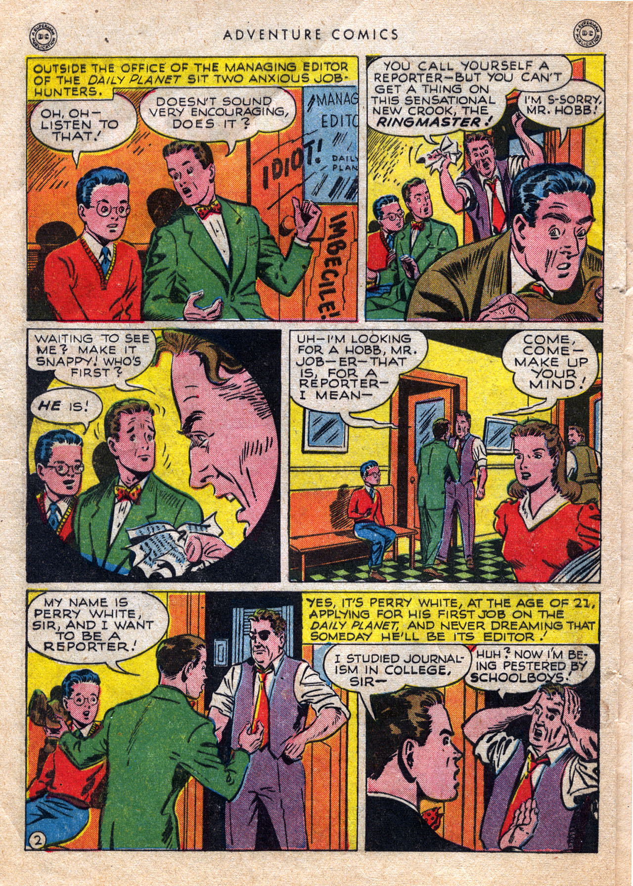 Read online Adventure Comics (1938) comic -  Issue #120 - 4