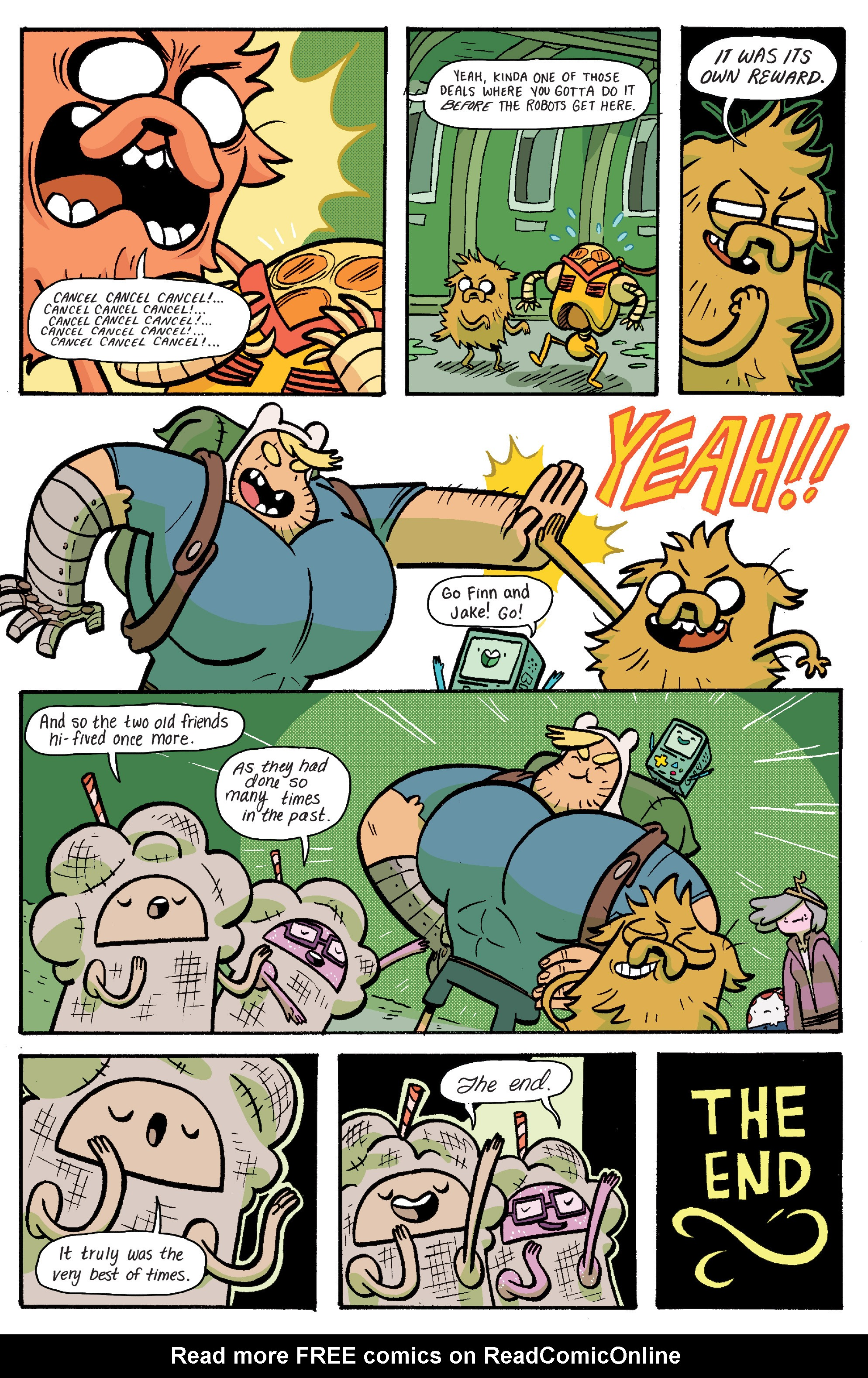Read online Adventure Time: Banana Guard Academ comic -  Issue #6 - 16