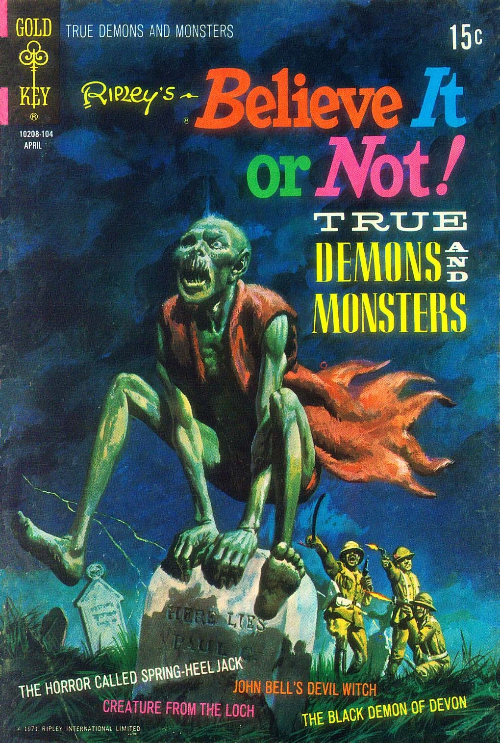 Ripleys Believe it or Not! (1965) 25 Page 1
