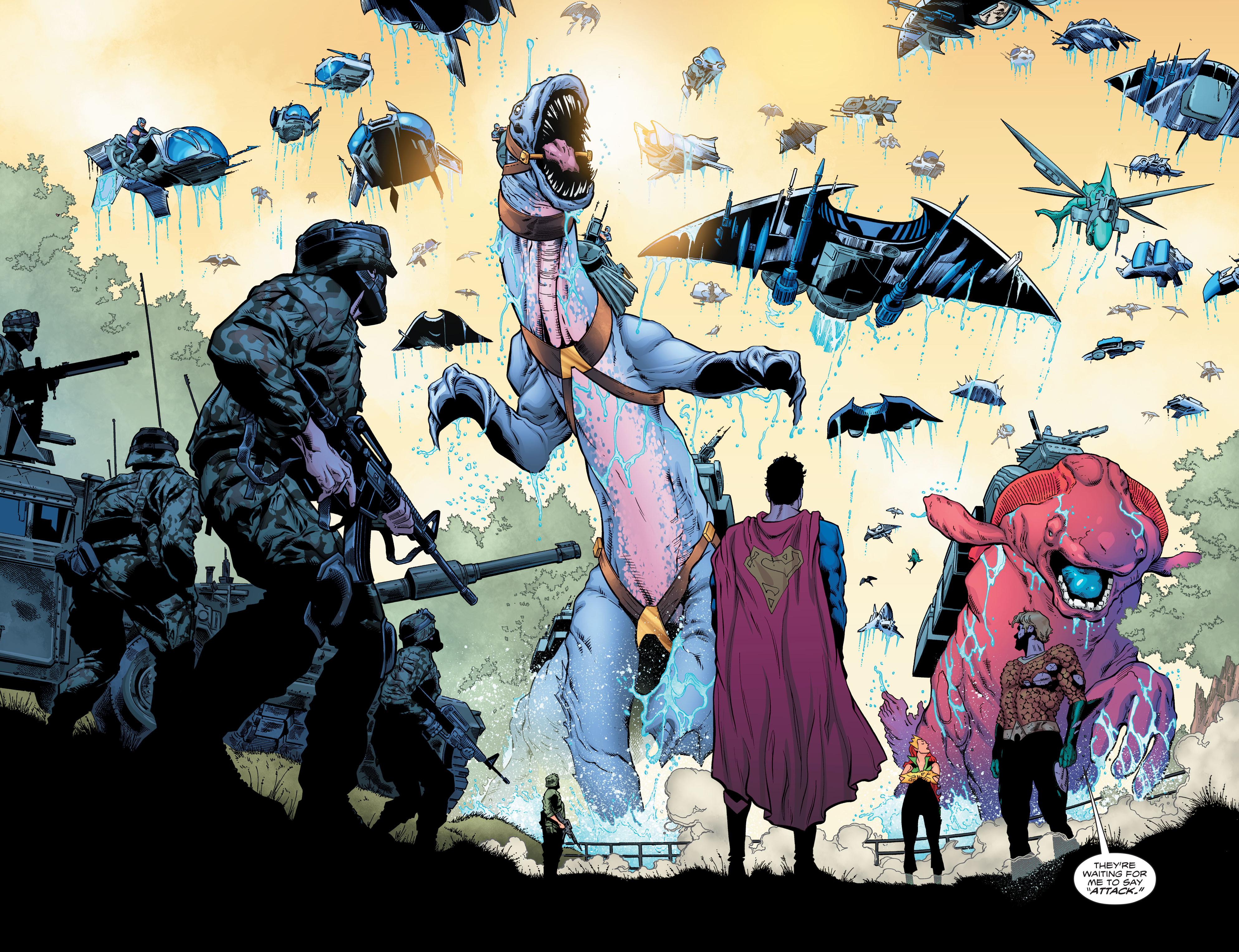Read online Aquaman (2016) comic -  Issue #6 - 16