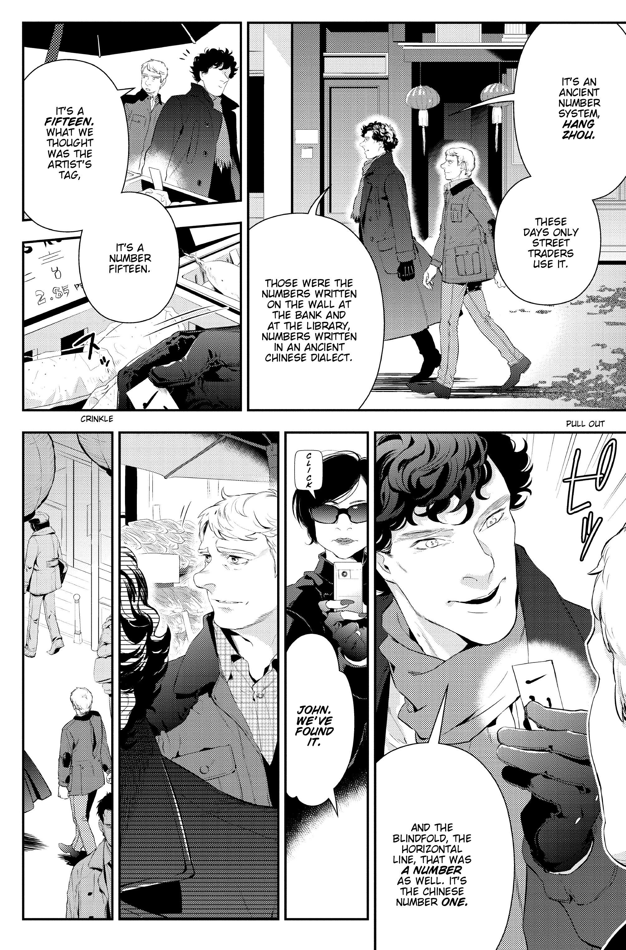 Read online Sherlock: The Blind Banker comic -  Issue #3 - 24