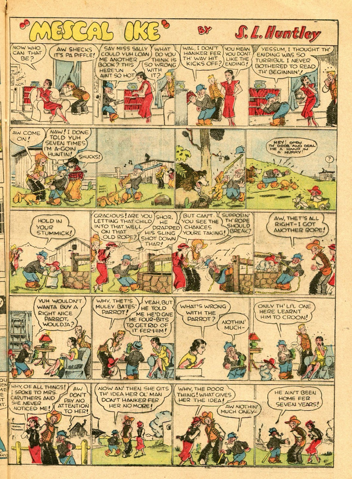 Read online Famous Funnies comic -  Issue #33 - 49