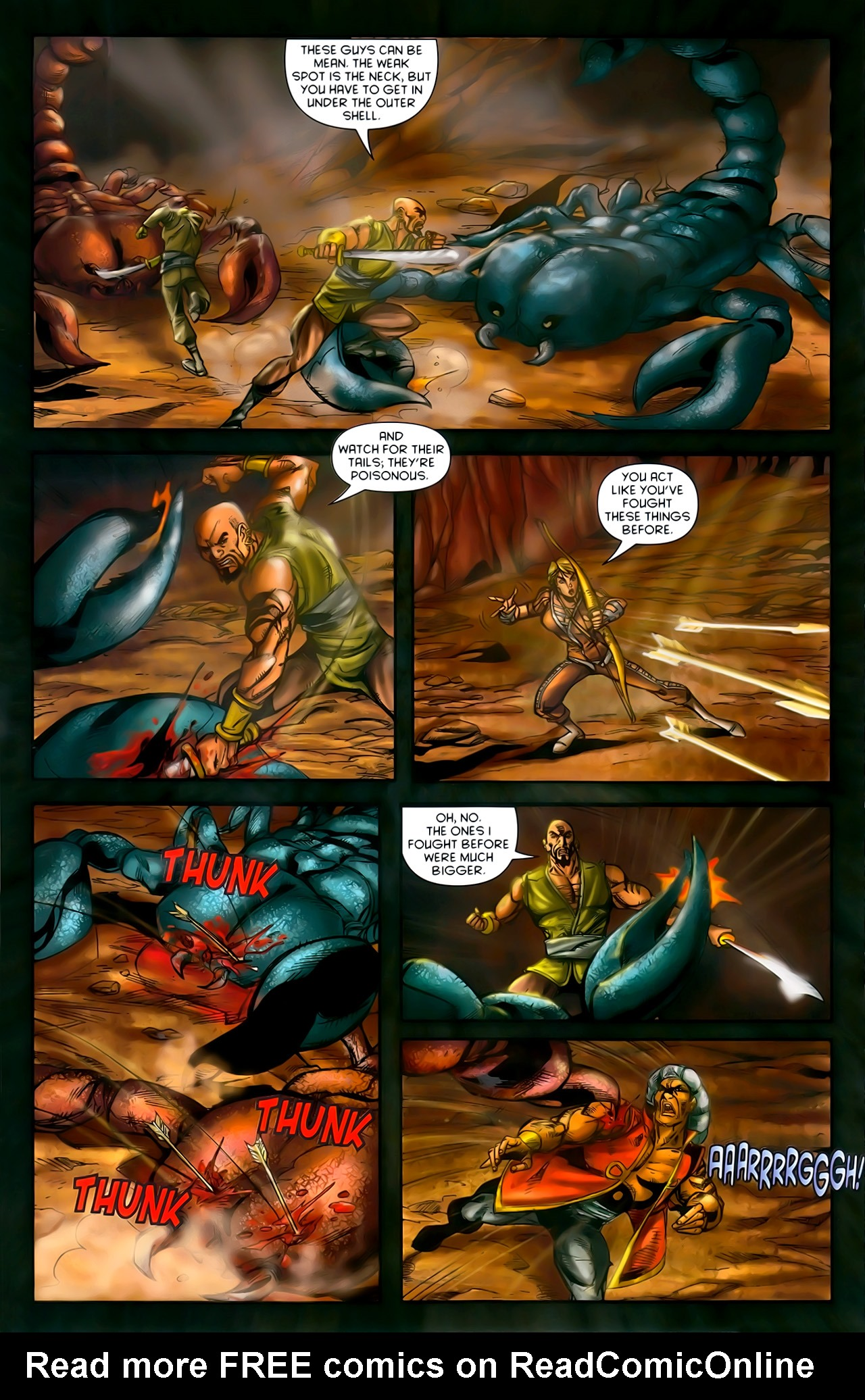 Read online 1001 Arabian Nights: The Adventures of Sinbad comic -  Issue #10 - 18