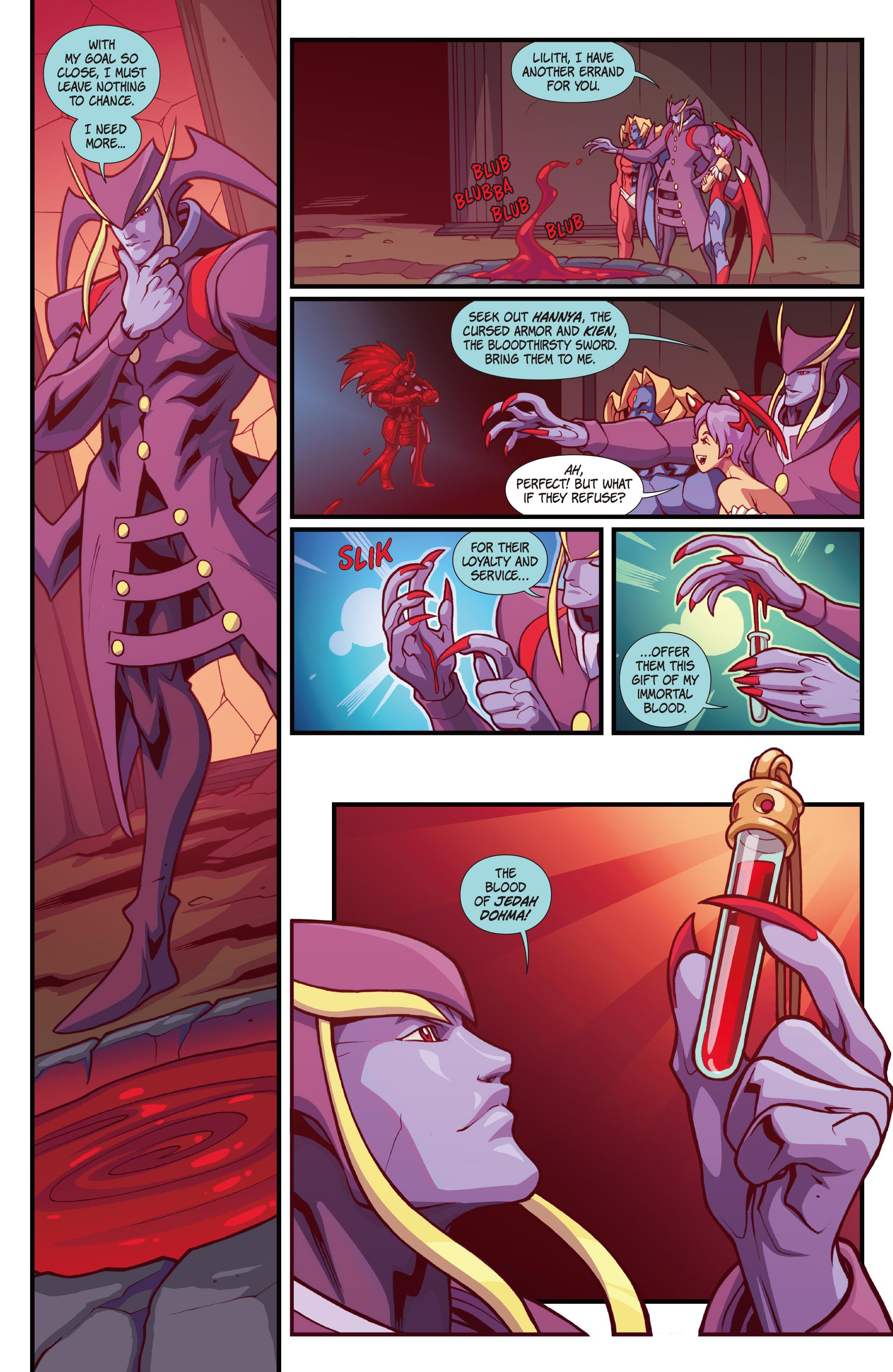 Read online Street Fighter VS Darkstalkers comic -  Issue #1 - 21