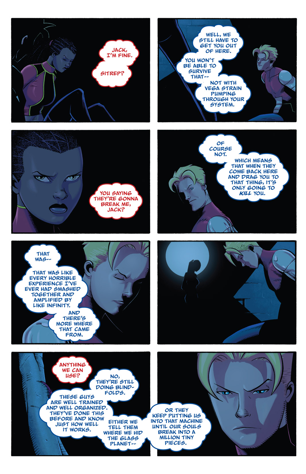 Read online The Many Adventures of Miranda Mercury: Time Runs Out comic -  Issue # TPB - 123