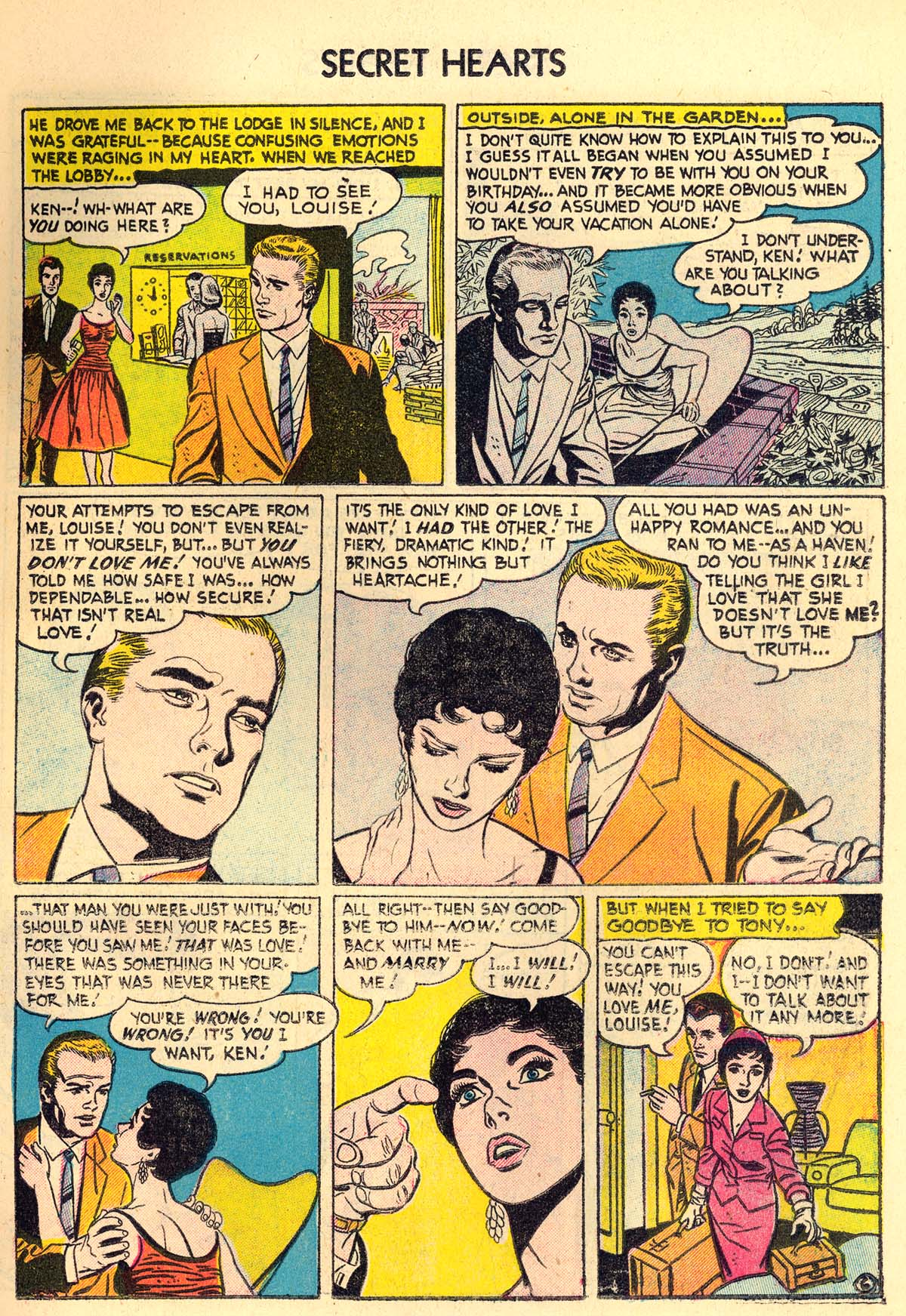 Read online Secret Hearts comic -  Issue #30 - 15
