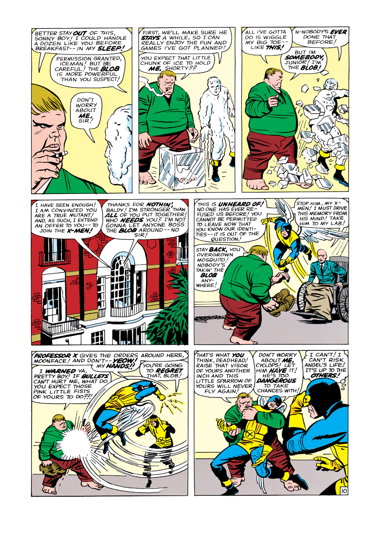 Read online Uncanny X-Men (1963) comic -  Issue #3 - 11