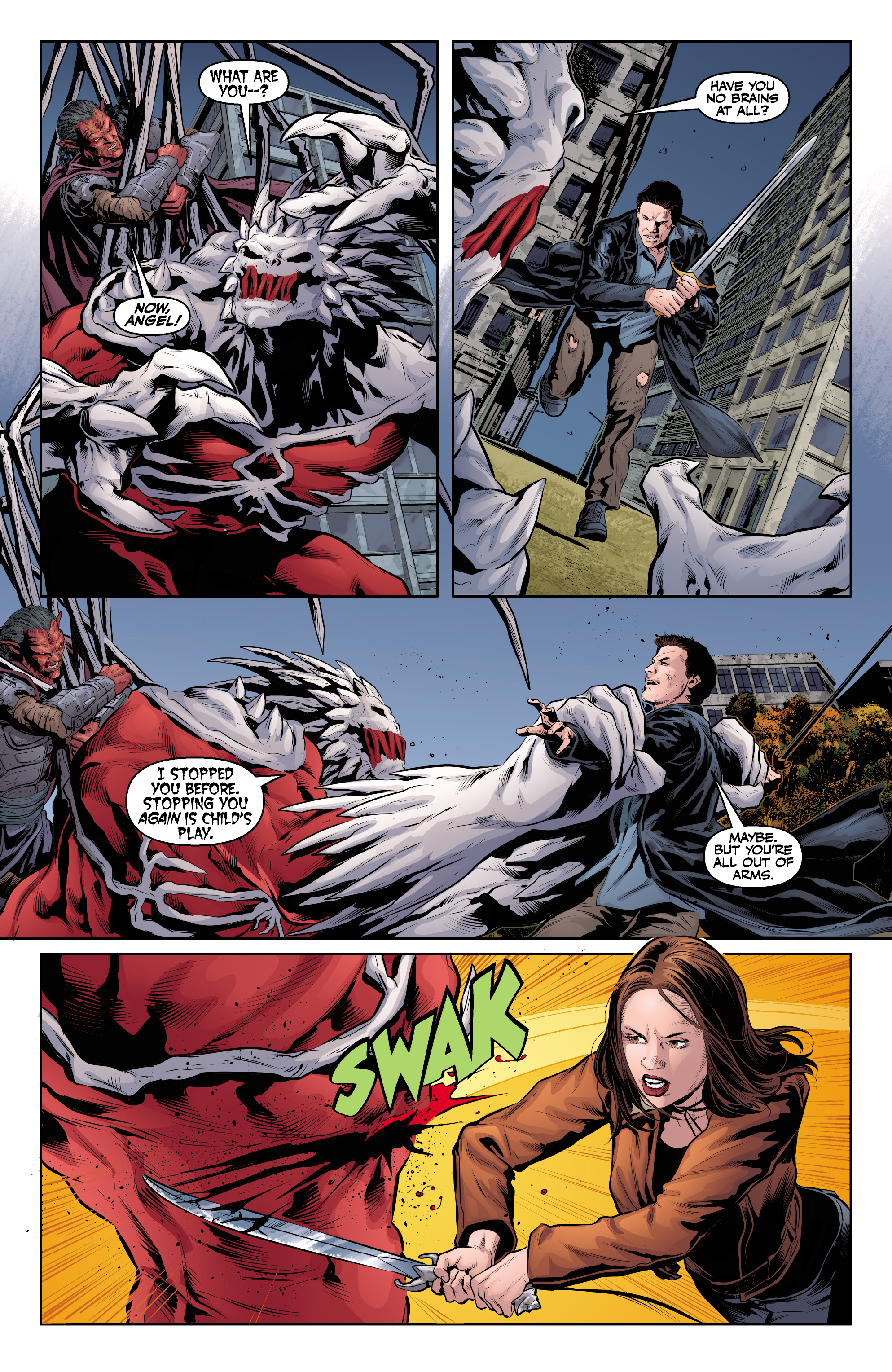 Read online Angel & Faith Season 10 comic -  Issue #24 - 21