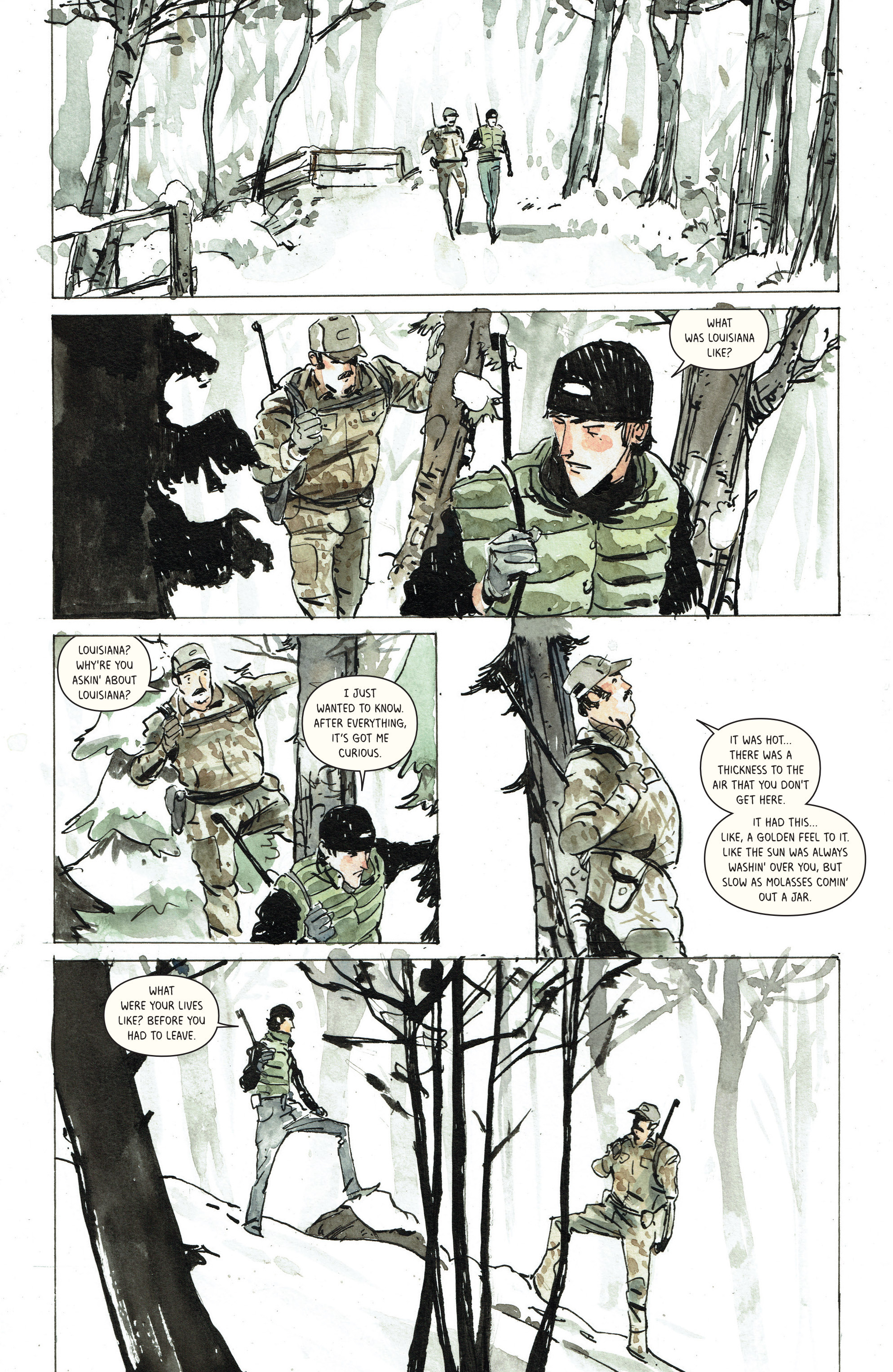 Read online Snow Blind comic -  Issue #3 - 15