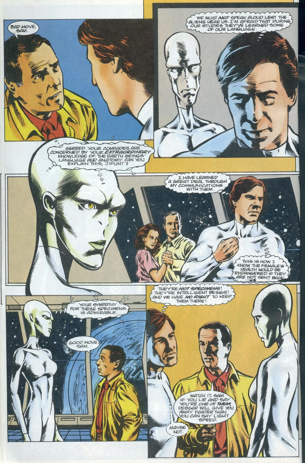 Read online Quantum Leap comic -  Issue #13 - 17