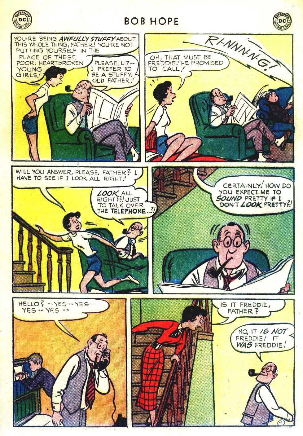The Adventures of Bob Hope issue 27 - Page 39