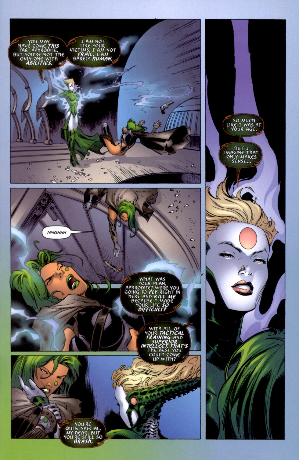 Read online Aphrodite IX (2000) comic -  Issue #4 - 34