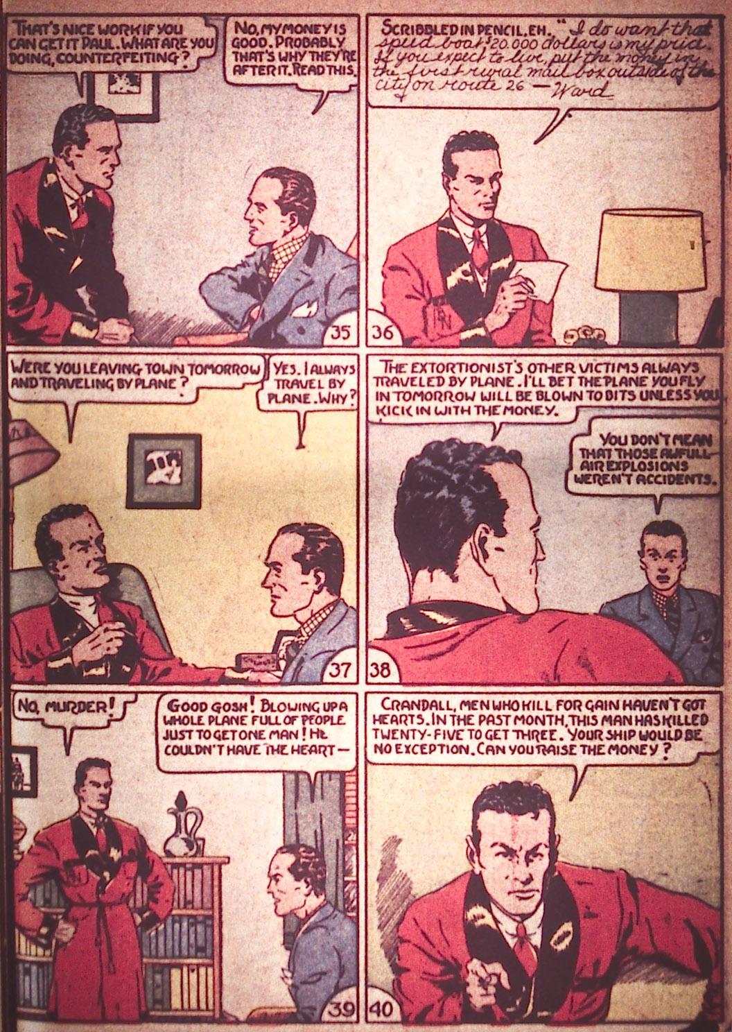 Read online Detective Comics (1937) comic -  Issue #12 - 29