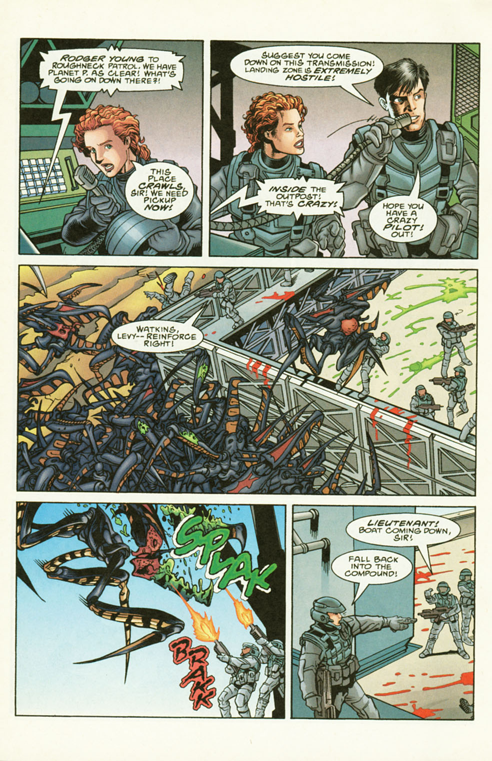 Read online Starship Troopers comic -  Issue #2 - 12