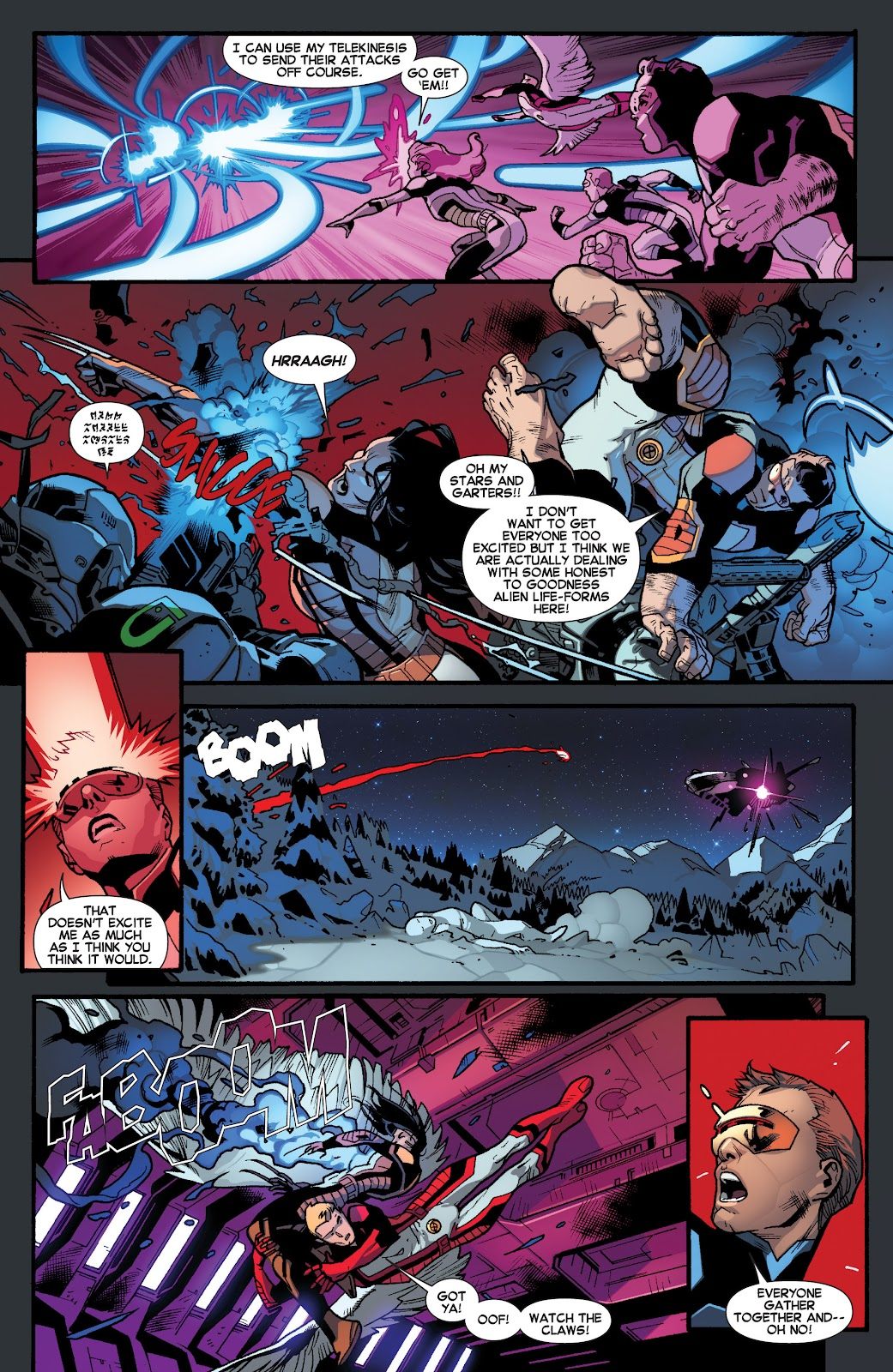 Guardians of the Galaxy/All-New X-Men: The Trial of Jean Grey issue TPB - Page 16