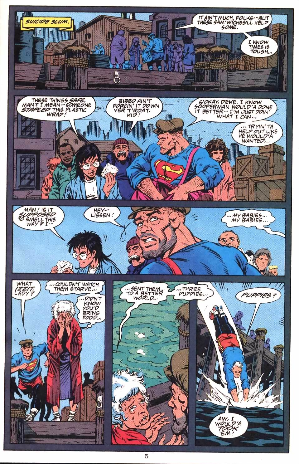 Read online Adventures of Superman (1987) comic -  Issue #501 - 8