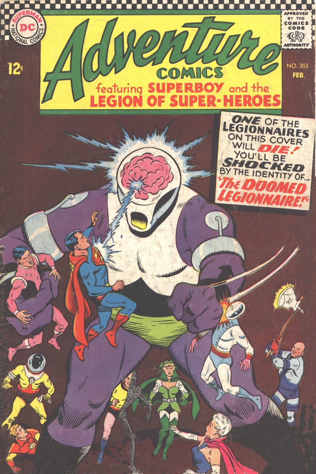 Read online Adventure Comics (1938) comic -  Issue #353 - 1