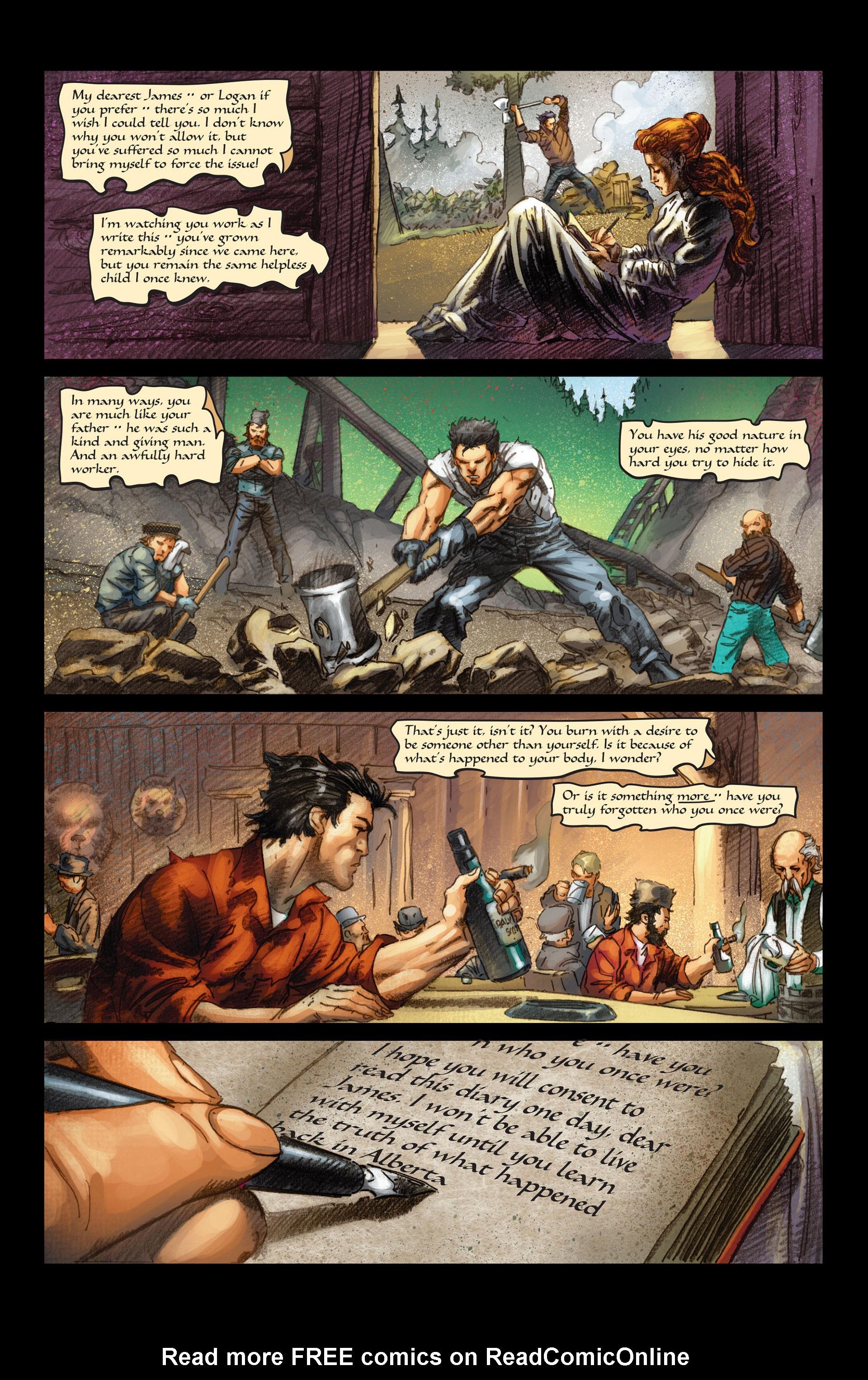 Read online Wolverine: The Origin comic -  Issue #4 - 19