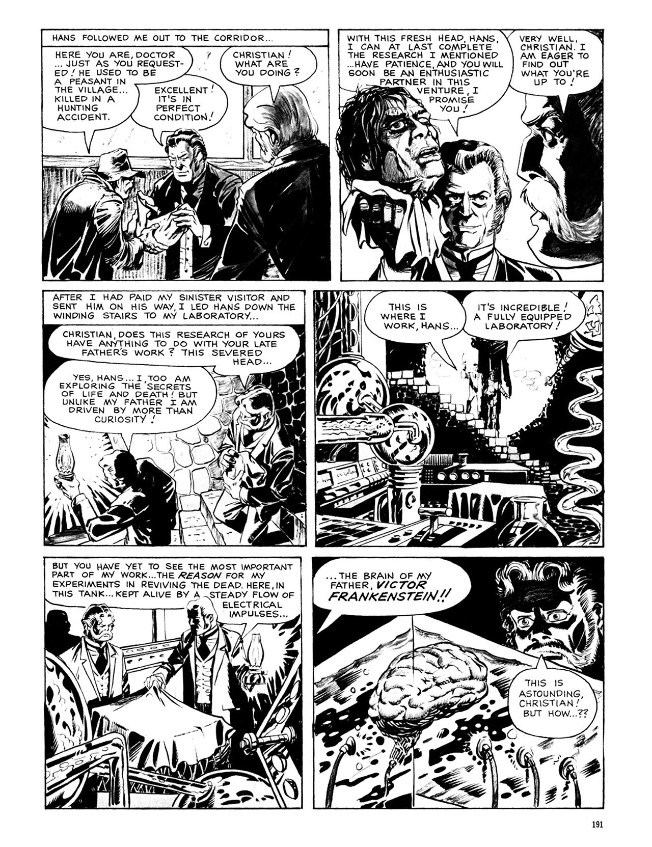 Read online Eerie Archives comic -  Issue # TPB 8 - 192