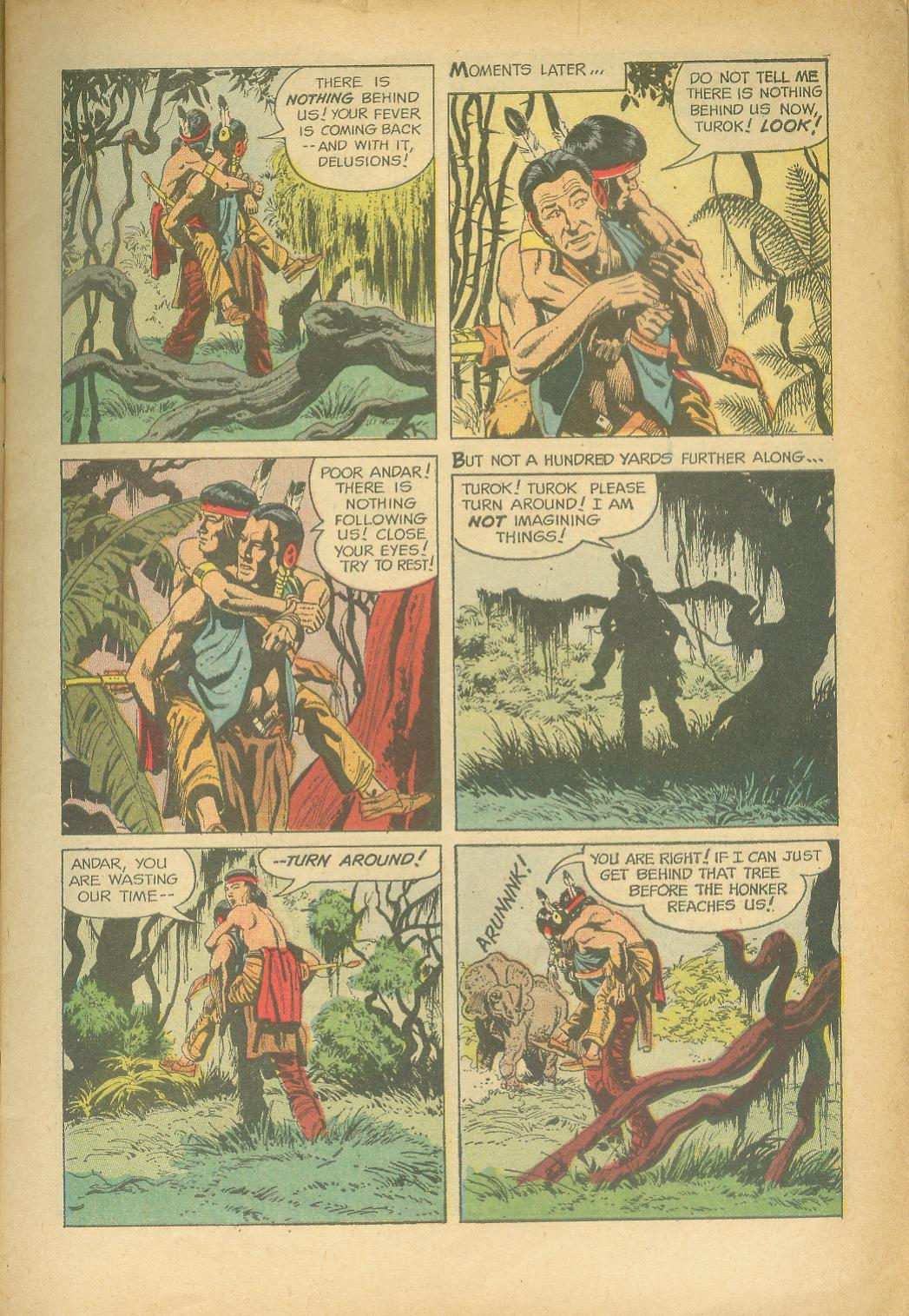 Read online Turok, Son of Stone comic -  Issue #24 - 7