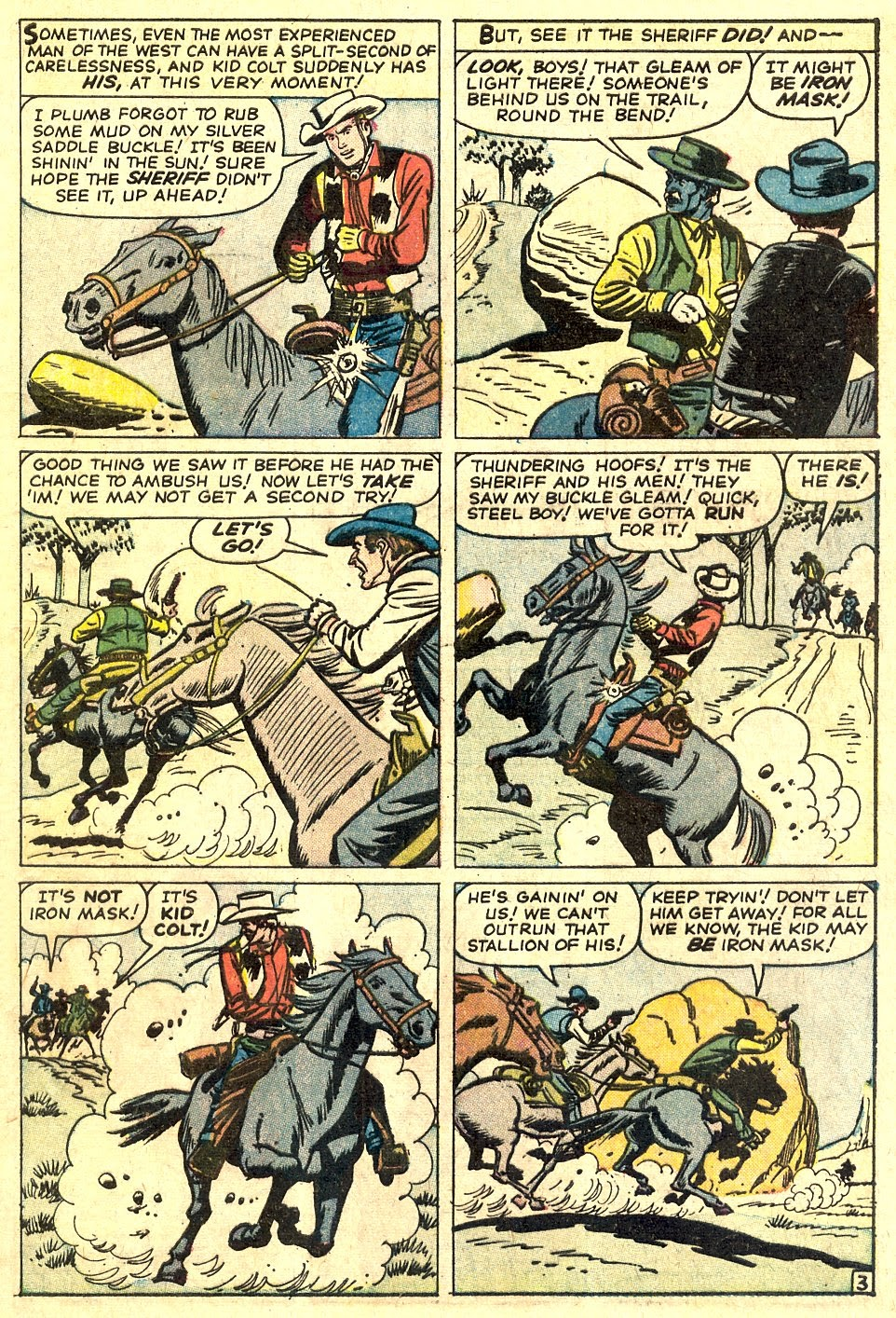 Kid Colt Outlaw issue 110 - Page 5
