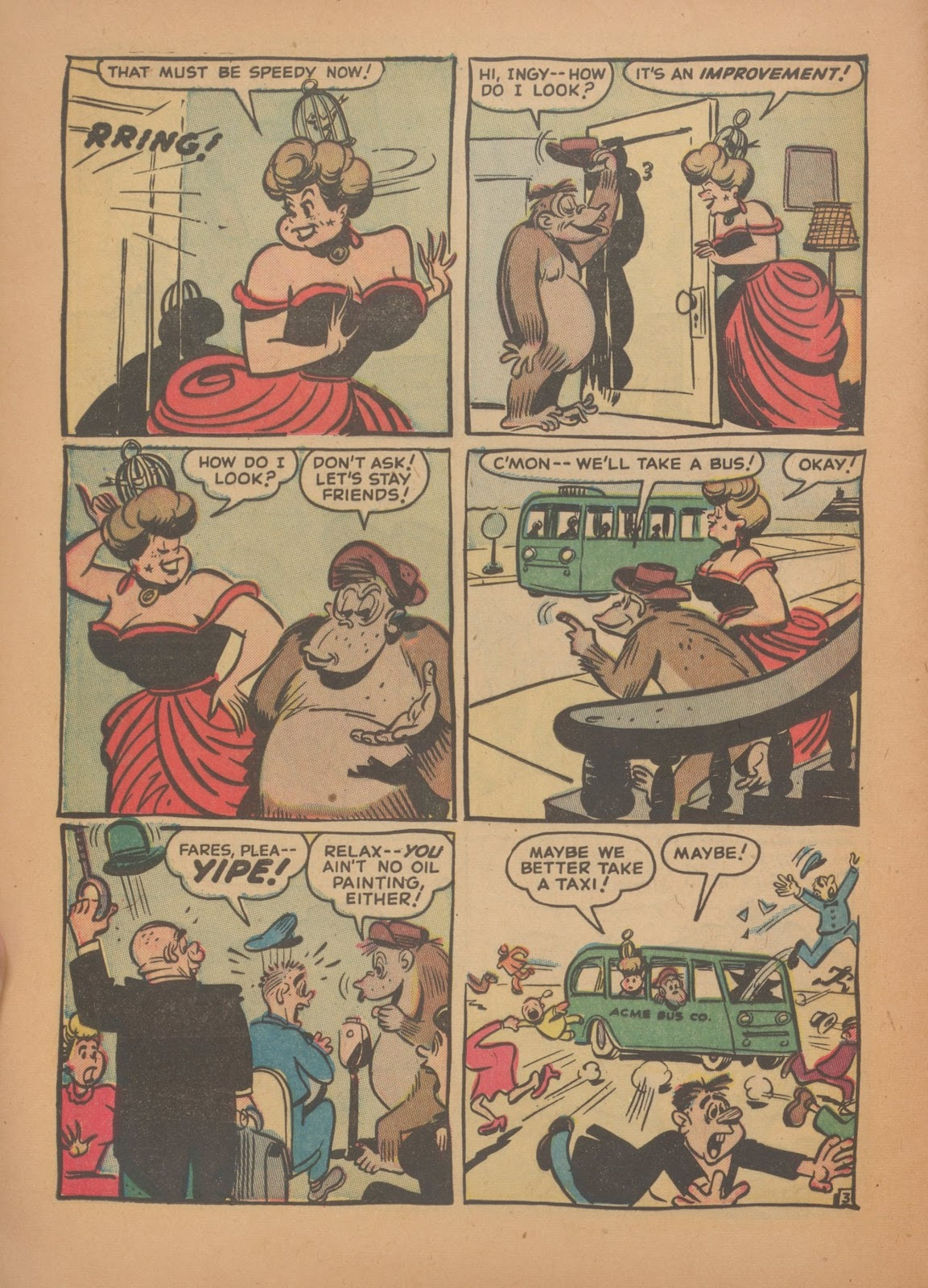 Read online Nellie The Nurse (1945) comic -  Issue #35 - 12