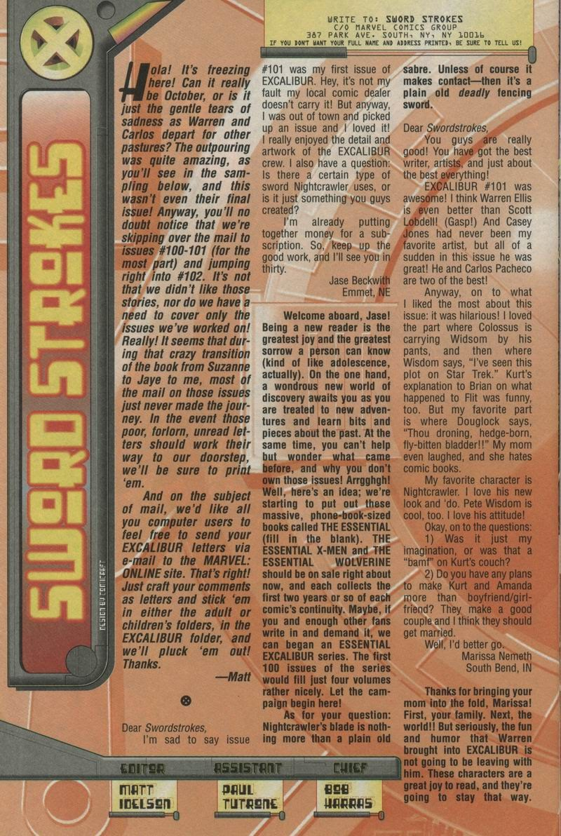 Excalibur (1988) issue 105 - Page 24