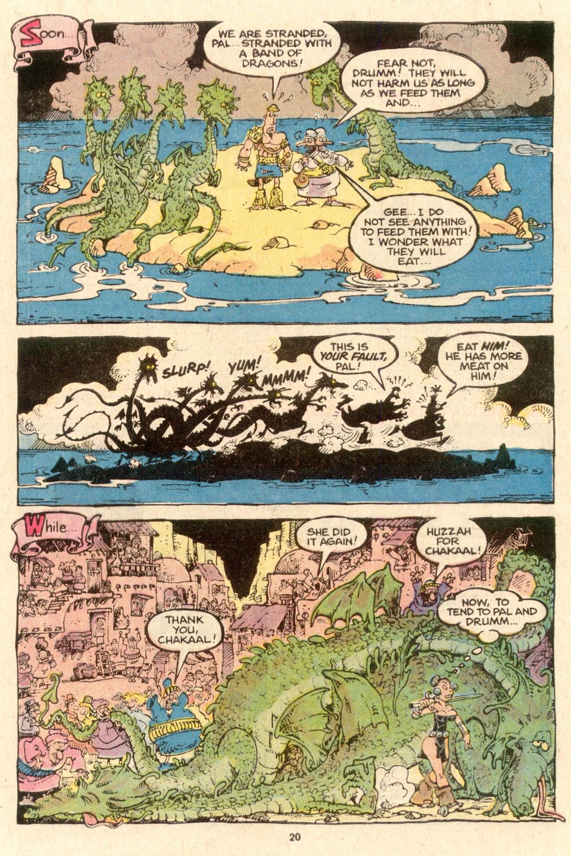 Read online Sergio Aragonés Groo the Wanderer comic -  Issue #53 - 23