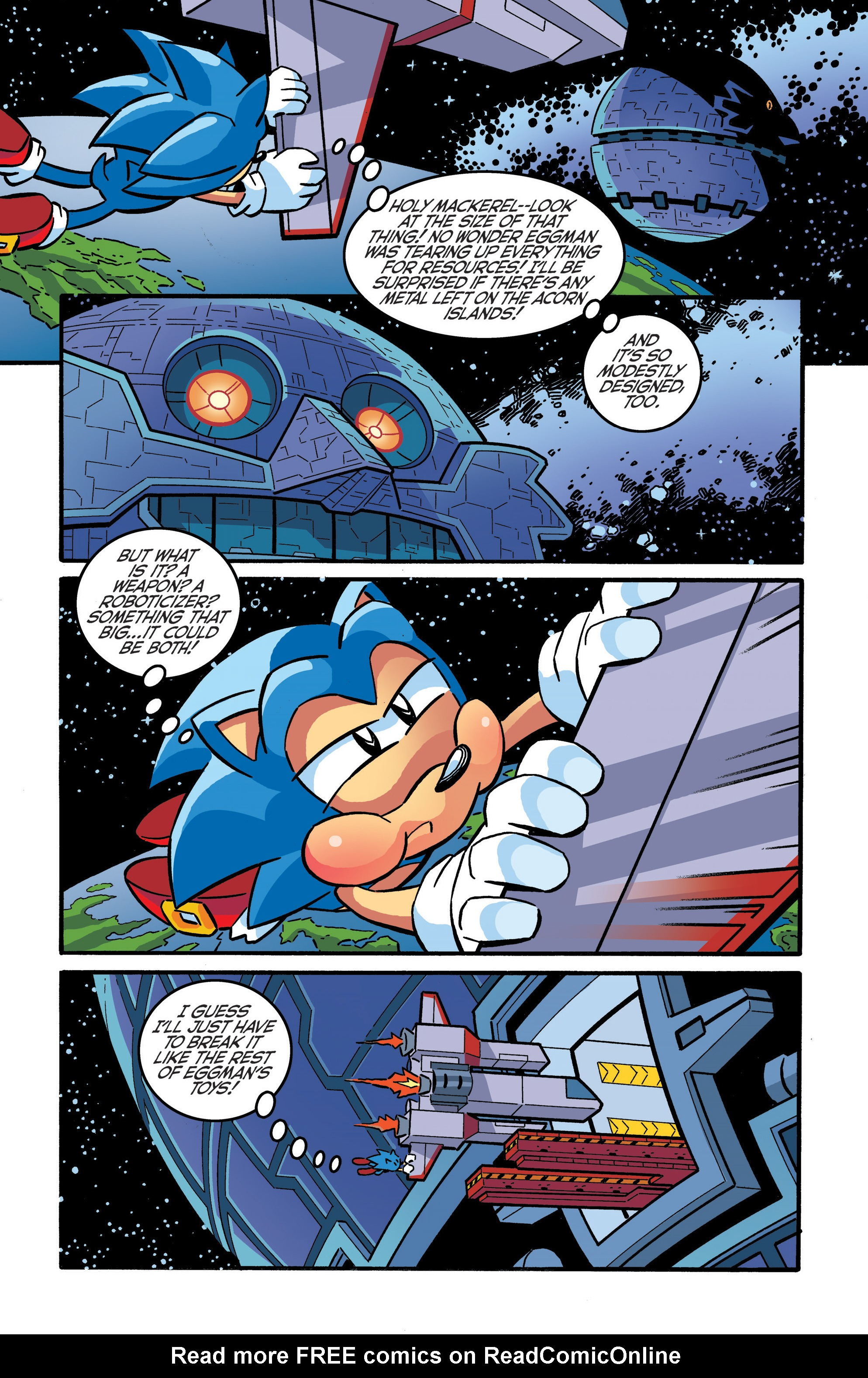 Read online Sonic The Hedgehog comic -  Issue #289 - 16