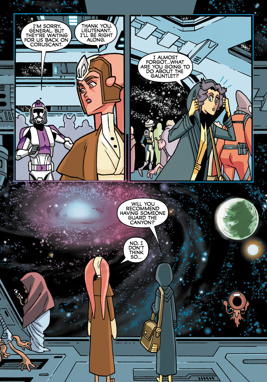 Read online Star Wars: The Clone Wars - Defenders of the Lost Temple comic -  Issue # Full - 73