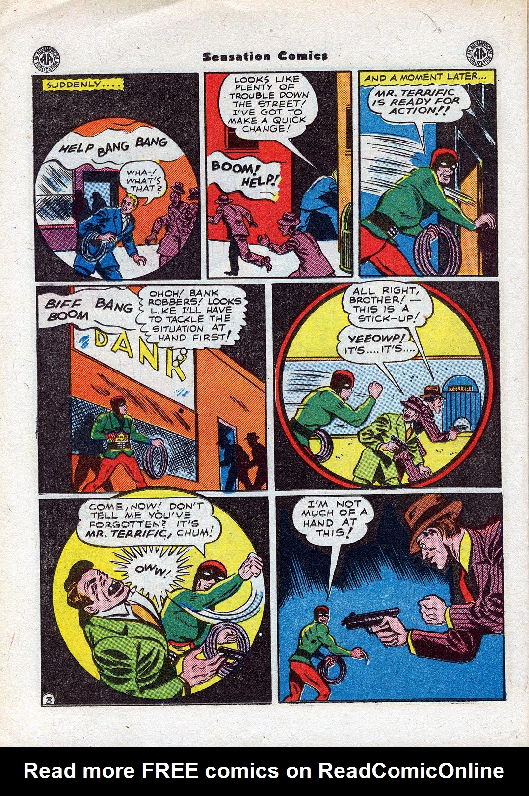 Read online Sensation (Mystery) Comics comic -  Issue #44 - 30