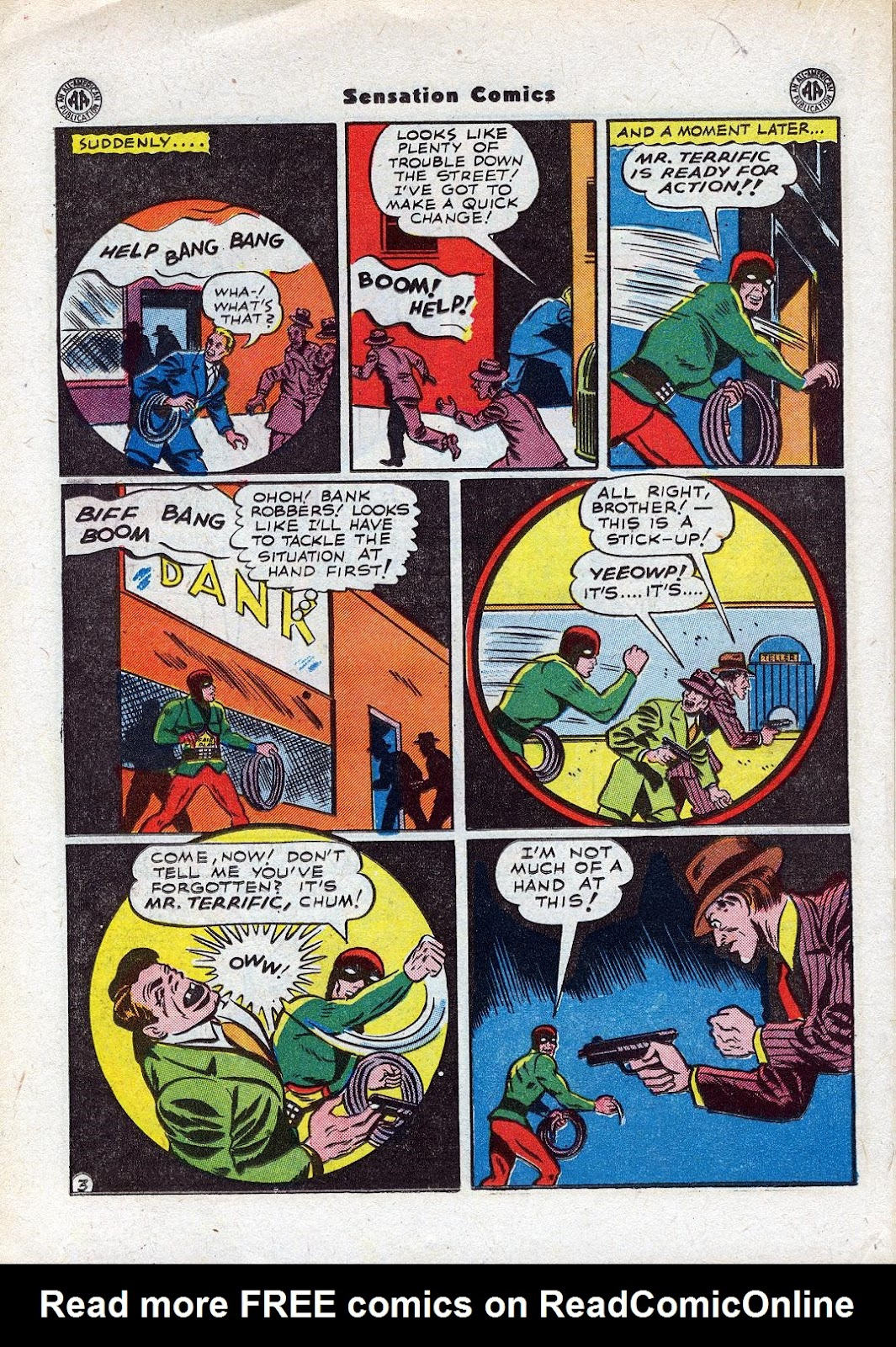 Sensation (Mystery) Comics issue 44 - Page 30