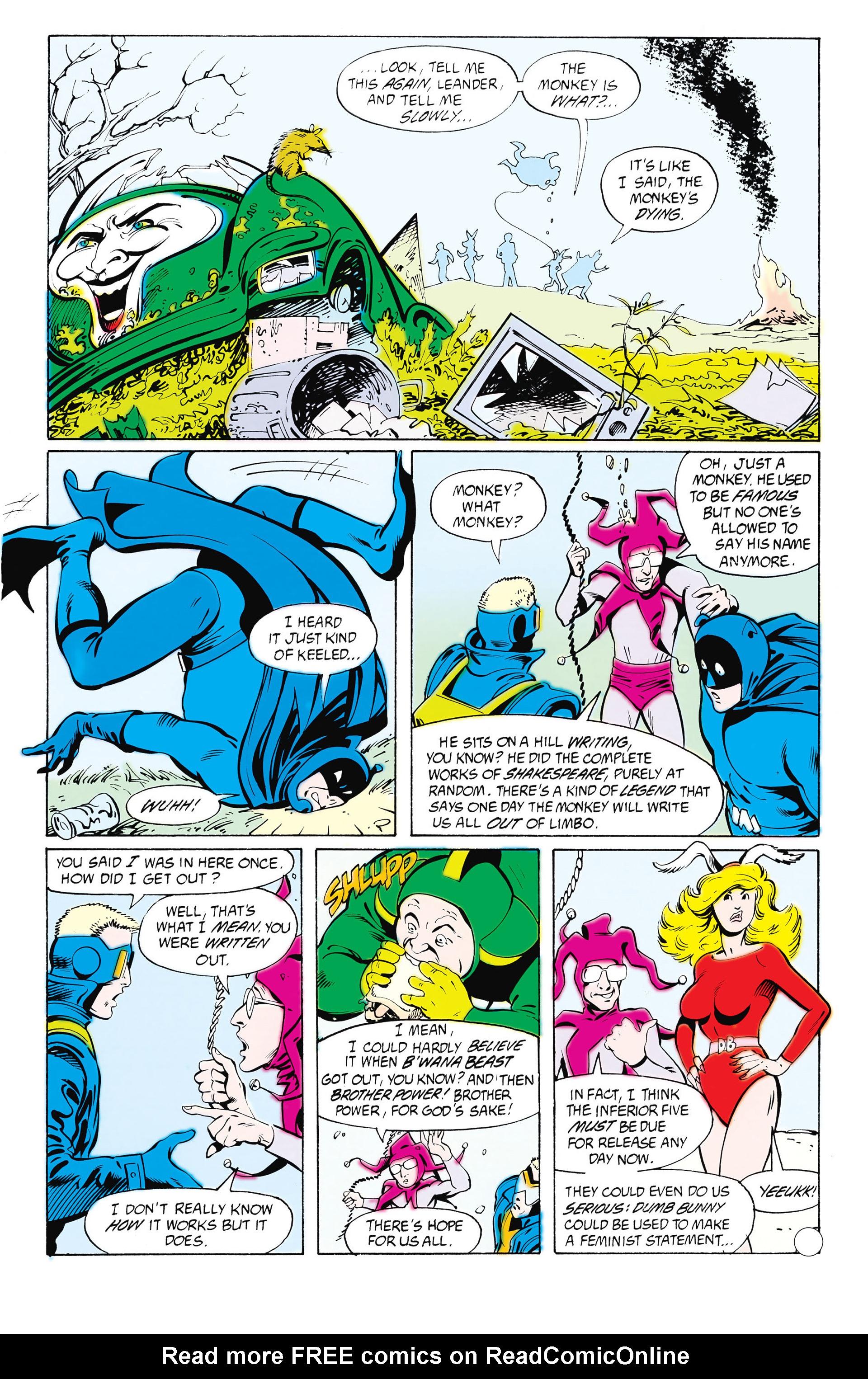 Read online Animal Man (1988) comic -  Issue #25 - 10