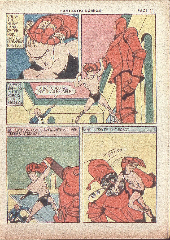 Read online Fantastic Comics comic -  Issue #4 - 13