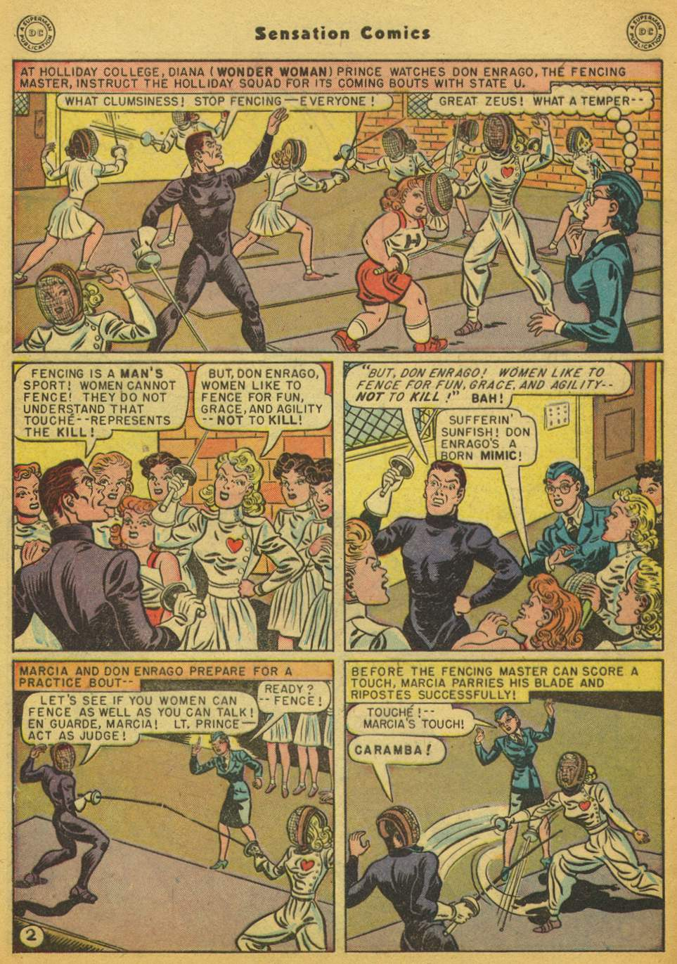 Read online Sensation (Mystery) Comics comic -  Issue #80 - 3