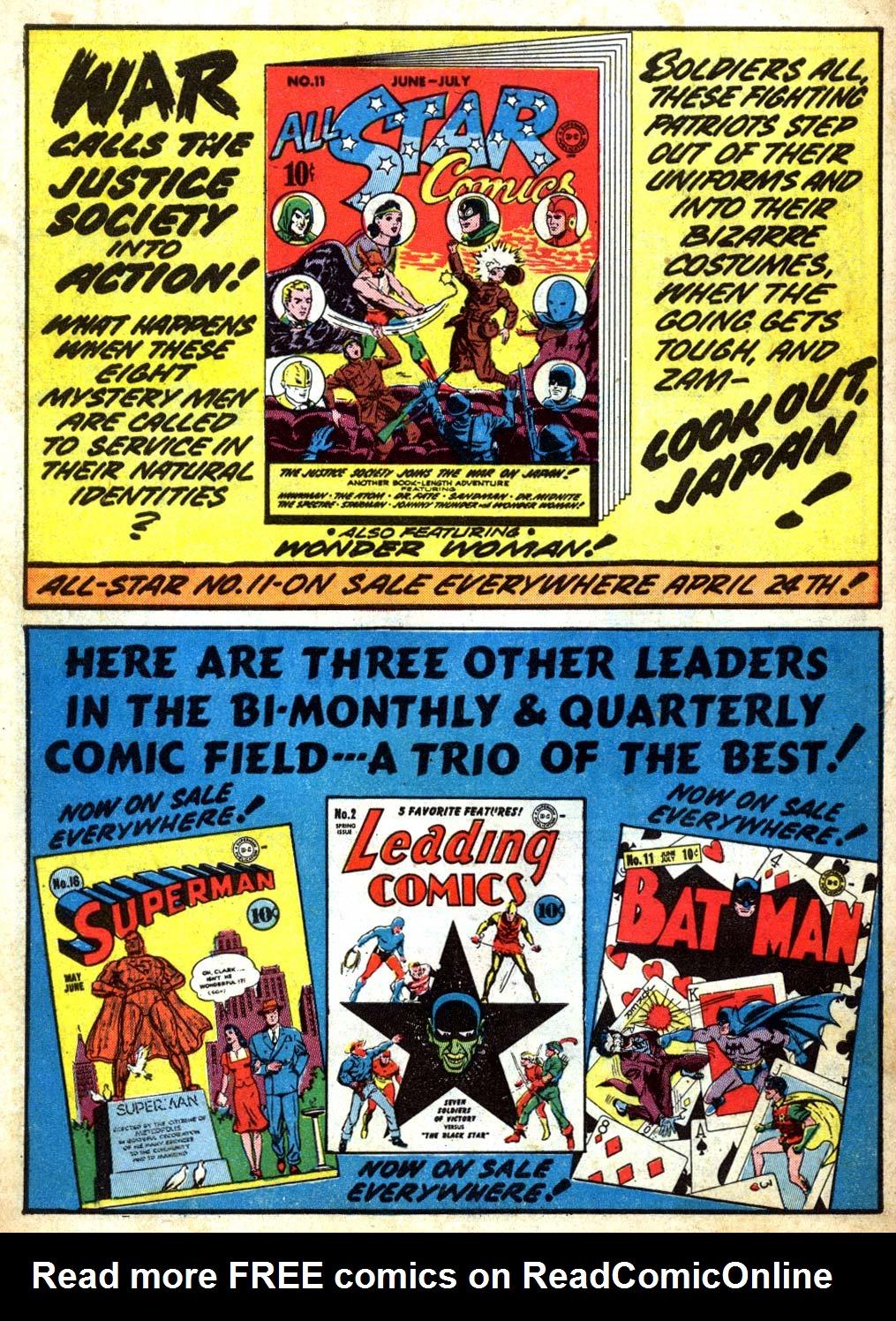 Read online Sensation (Mystery) Comics comic -  Issue #6 - 66