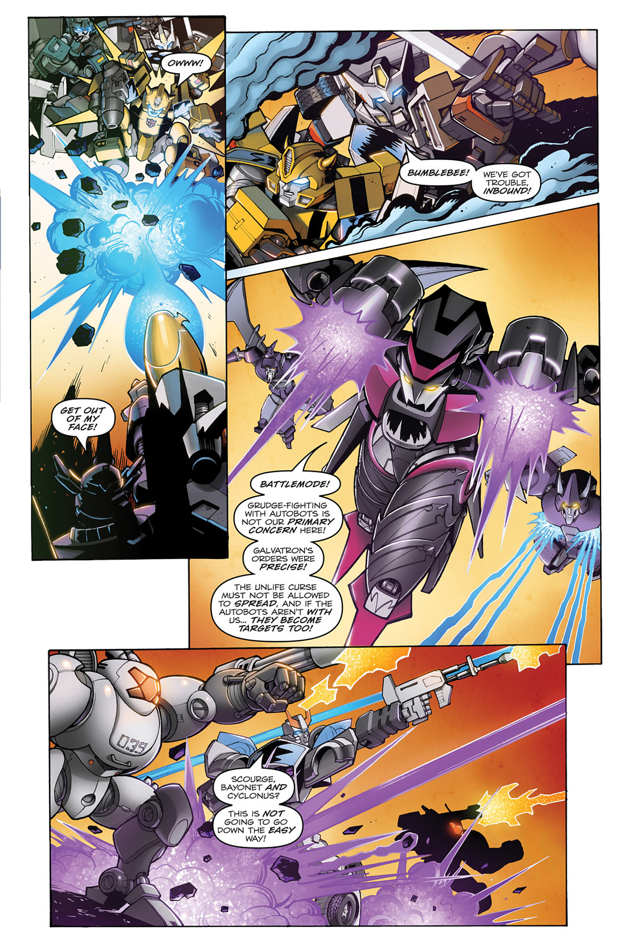 Read online Transformers: Infestation comic -  Issue #1 - 12