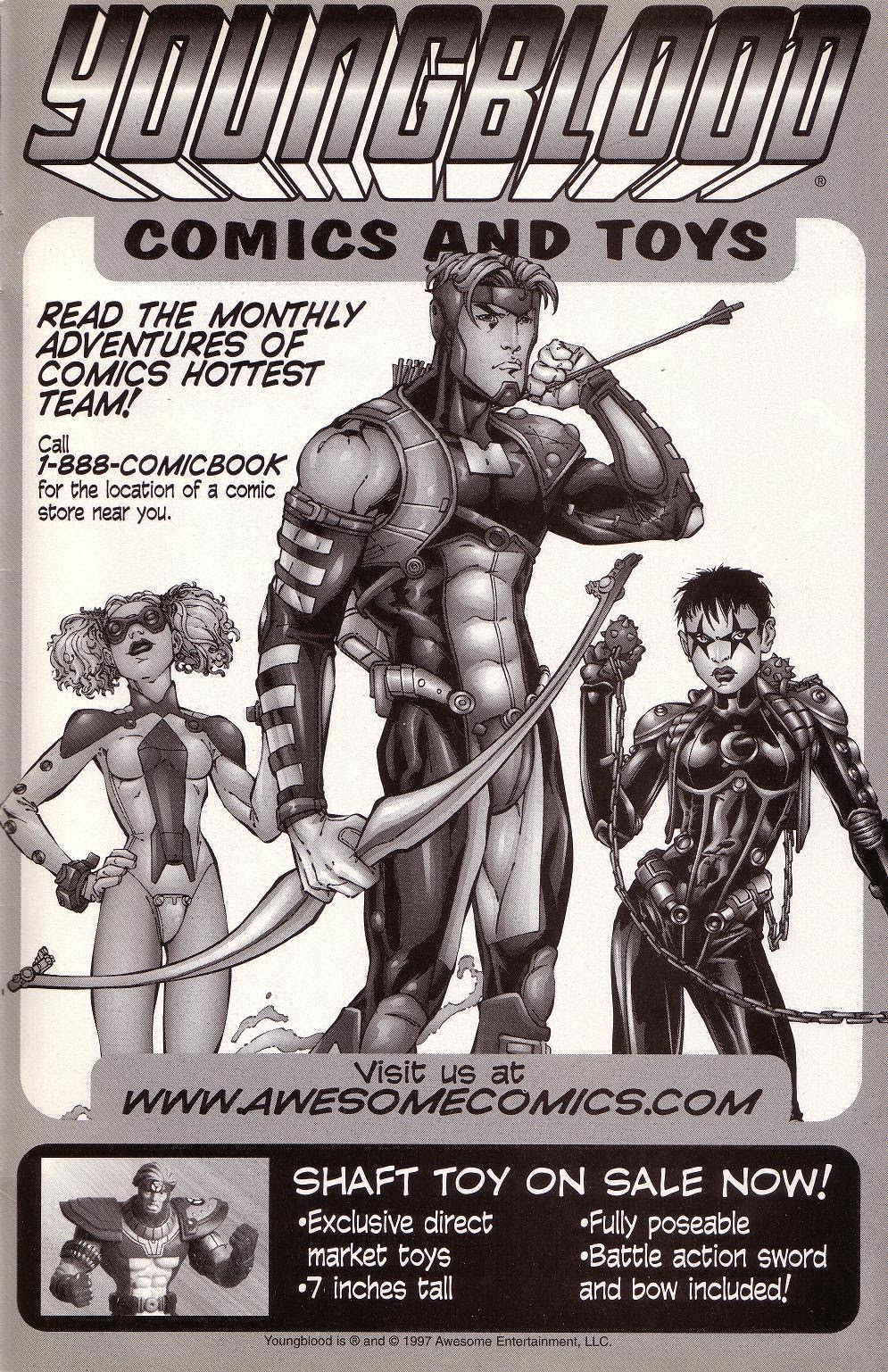 Read online Youngblood GT Interactive Ultra Game Players Special Edition comic -  Issue # Full - 26